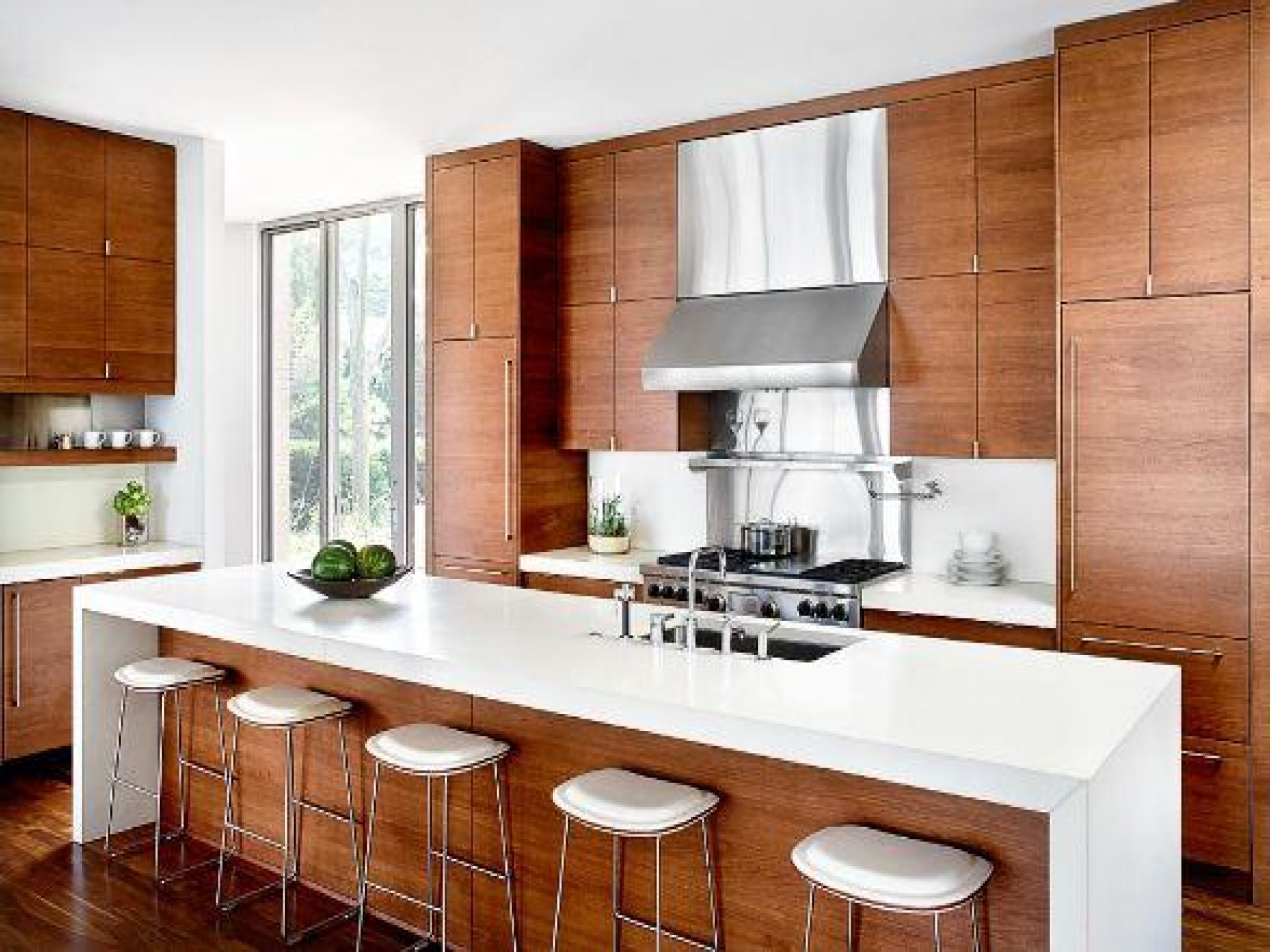 Contemporary Wood Kitchen Cabinets