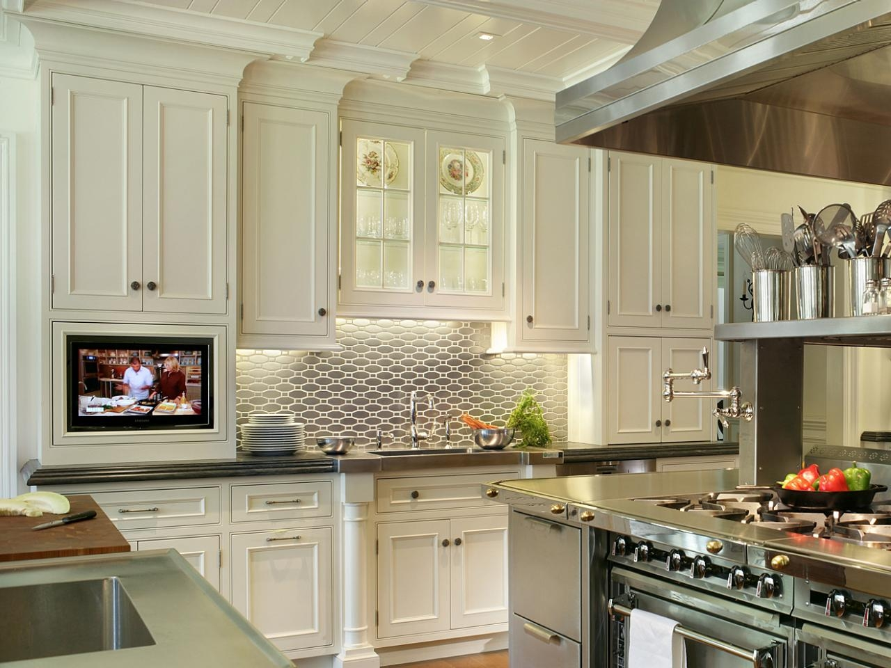 Extra Tall Upper Kitchen Cabinets