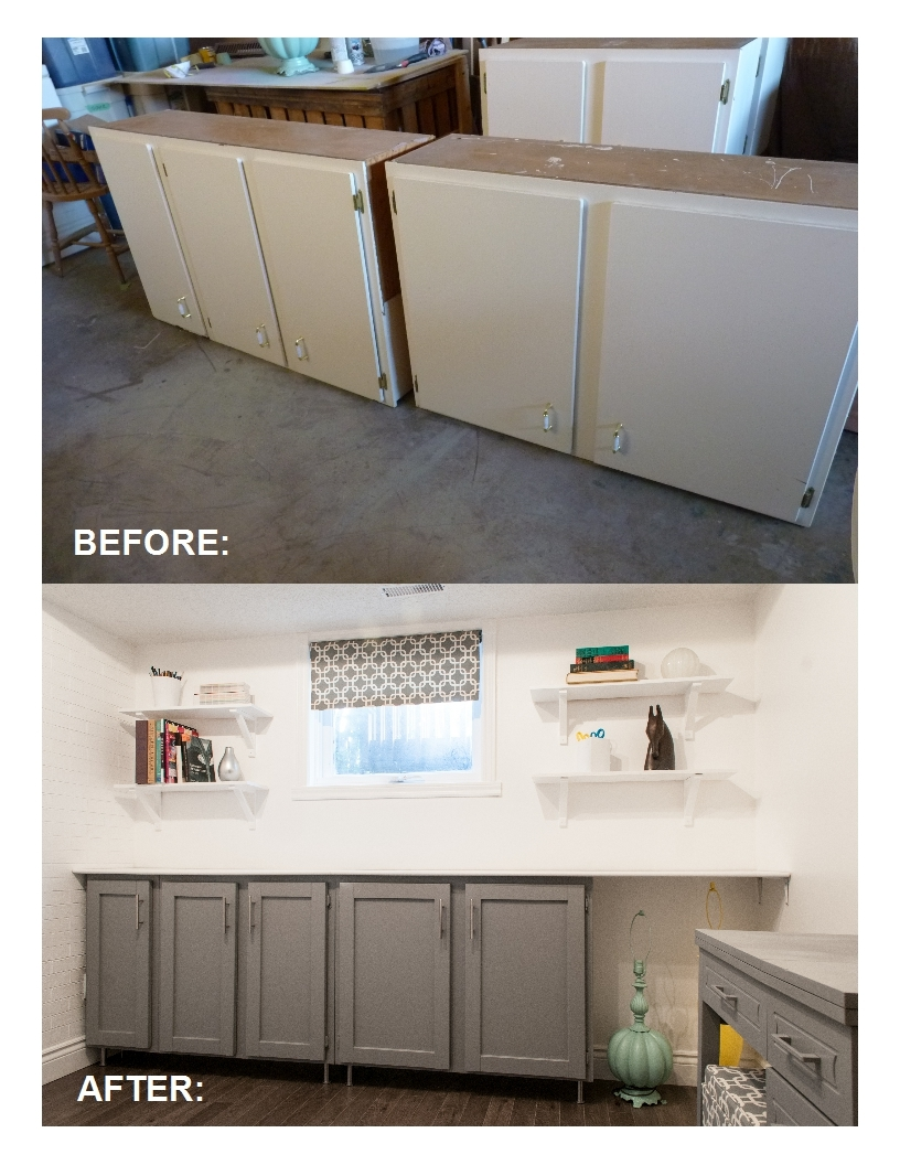 Flat Faced Kitchen Cabinet Doors