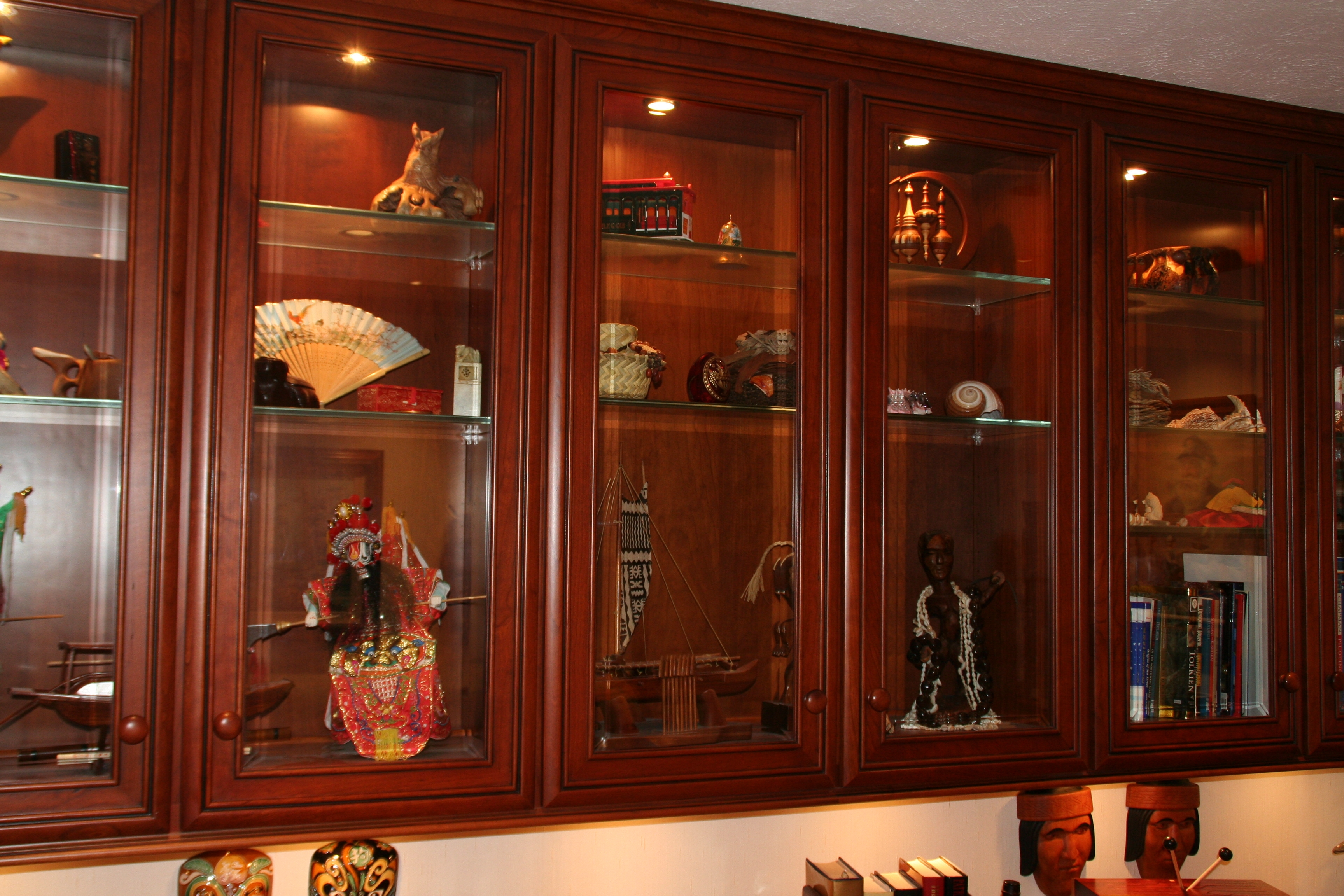 Glass Door Inserts Kitchen Cabinets