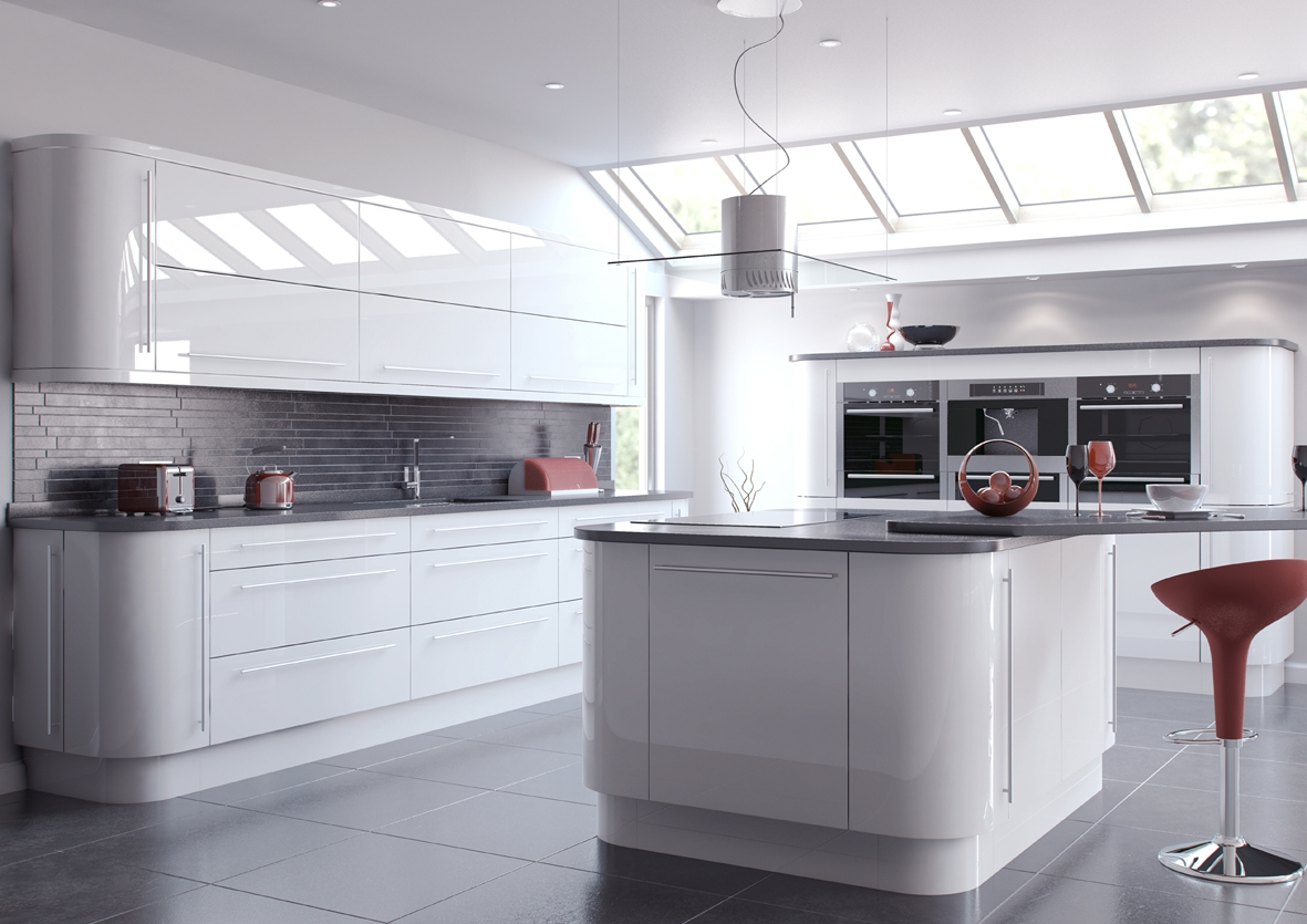 Gloss Kitchen Cabinets Products