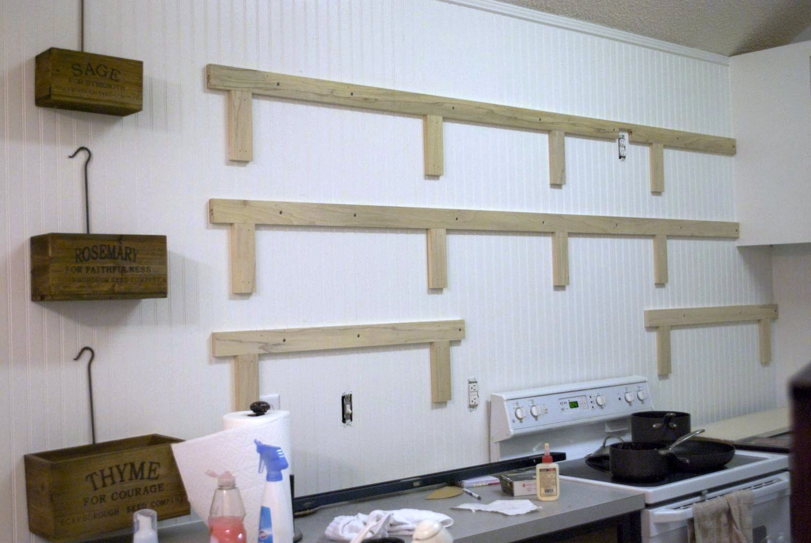 Hanging Kitchen Cabinets On Stud Walls