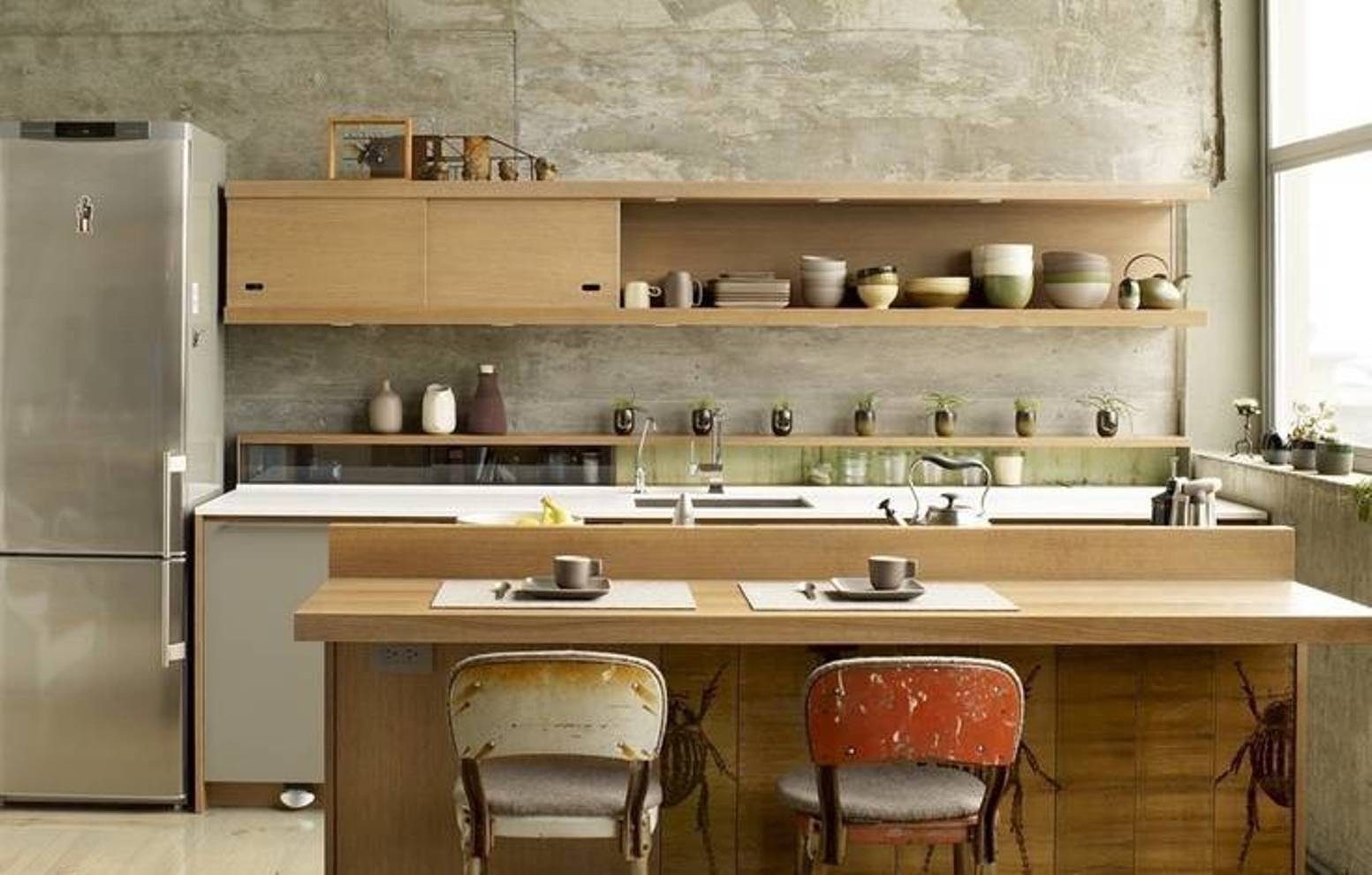 Japanese Design Kitchen Cabinets