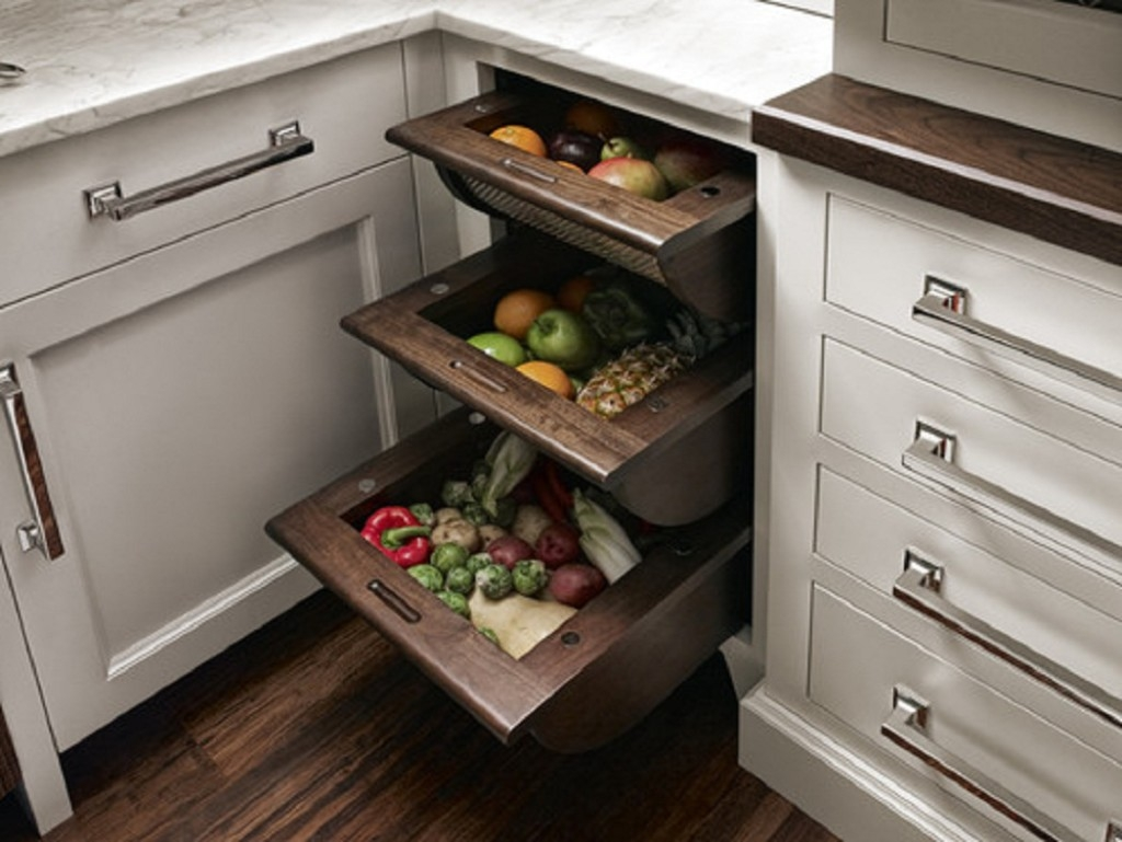 Kitchen Cabinet Accessory Ideas