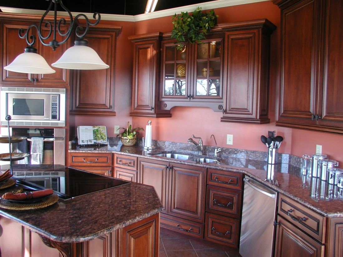 Kitchen Cabinet Doors Mahoganybrown mahogany kitchen cabinets mahogany wood kitchen