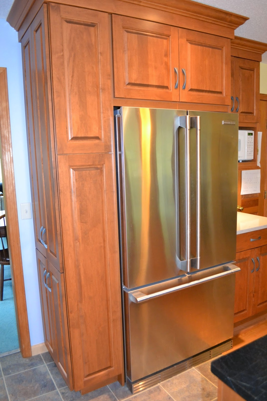 Kitchen Cabinet Refrigerator Side Panel
