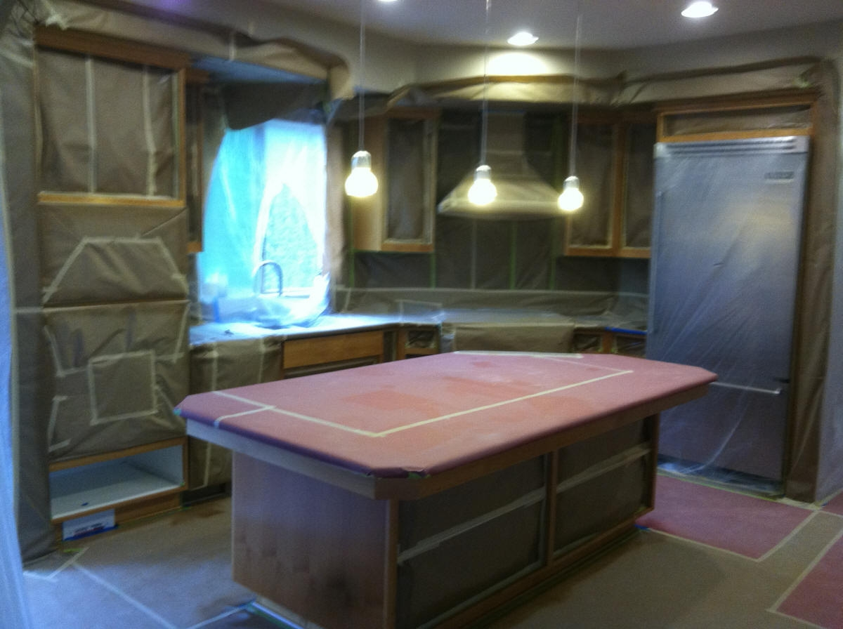 Kitchen Cabinet Staining Contractors