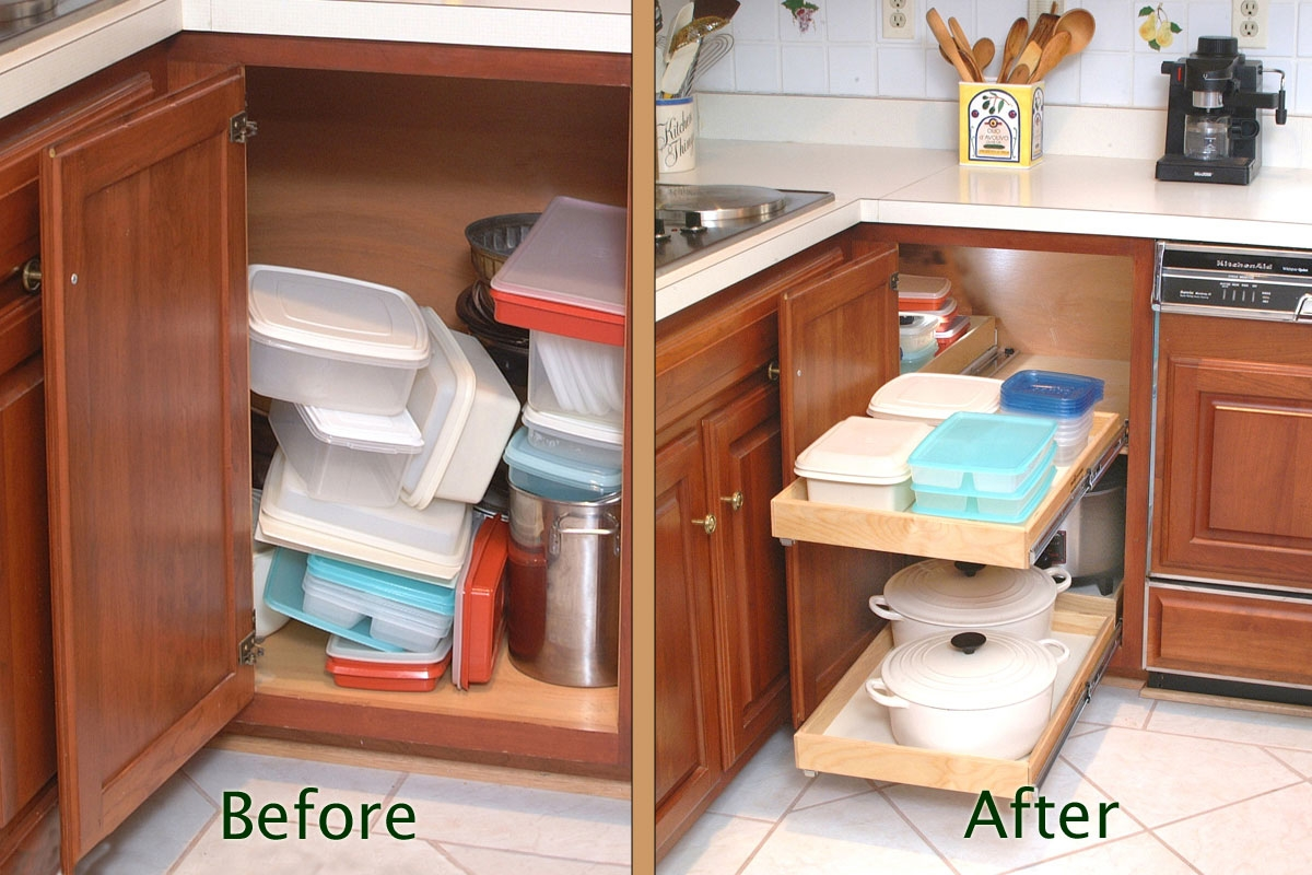 Kitchen Cabinet Storage Units