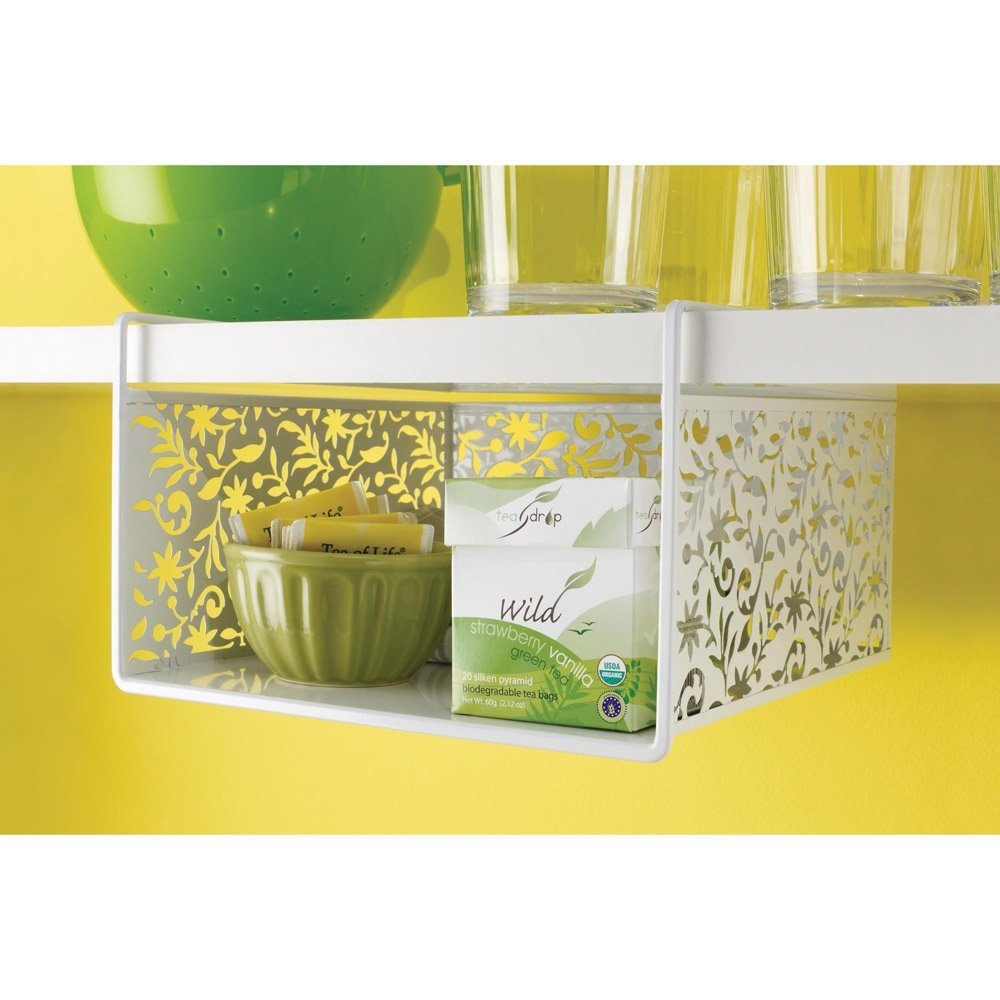 Kitchen Cabinet Under Shelf Basketunder cabinet shelf basket jusico