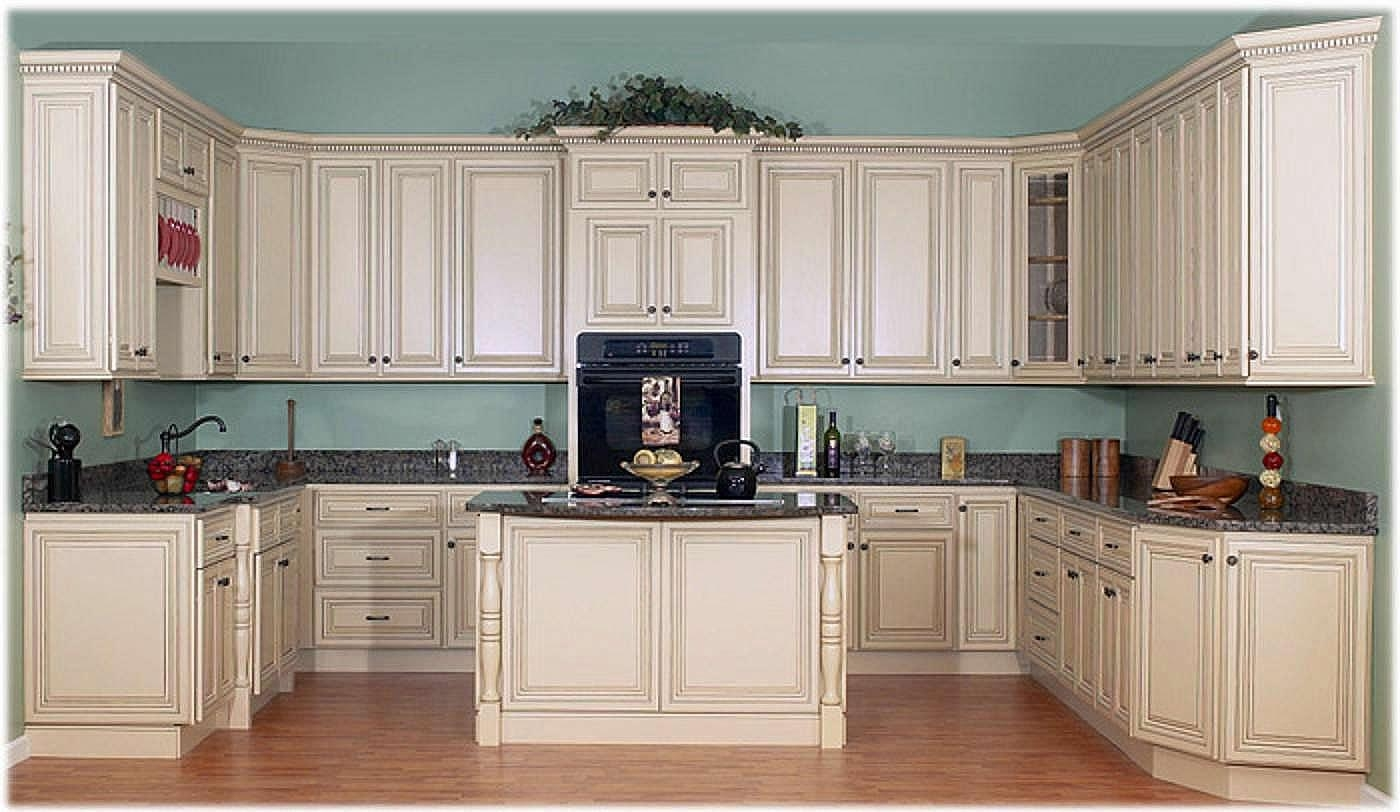 Permalink to Kitchen Cabinets Antique White Chocolate Glaze