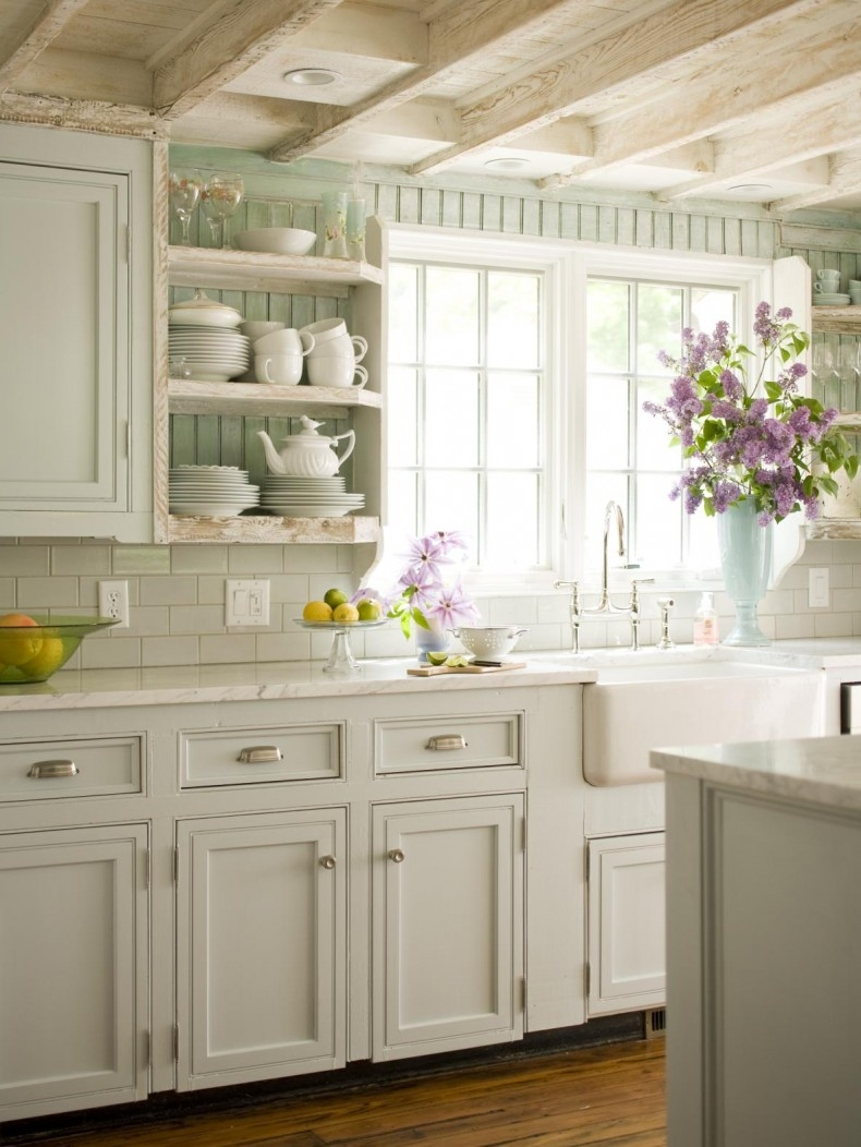 Permalink to Kitchen Cabinets Cottage Style