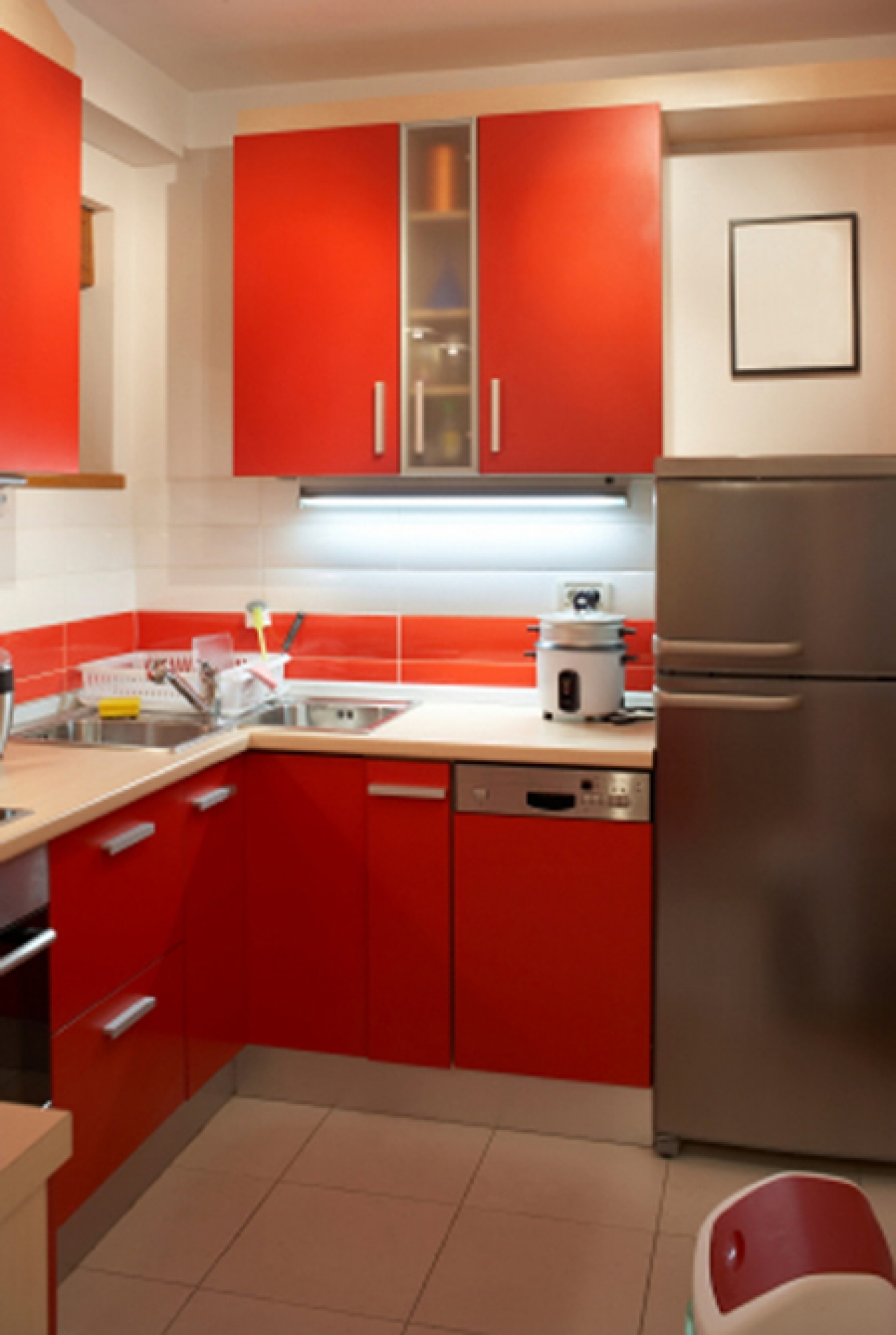 Kitchen Cabinets Design Small Space