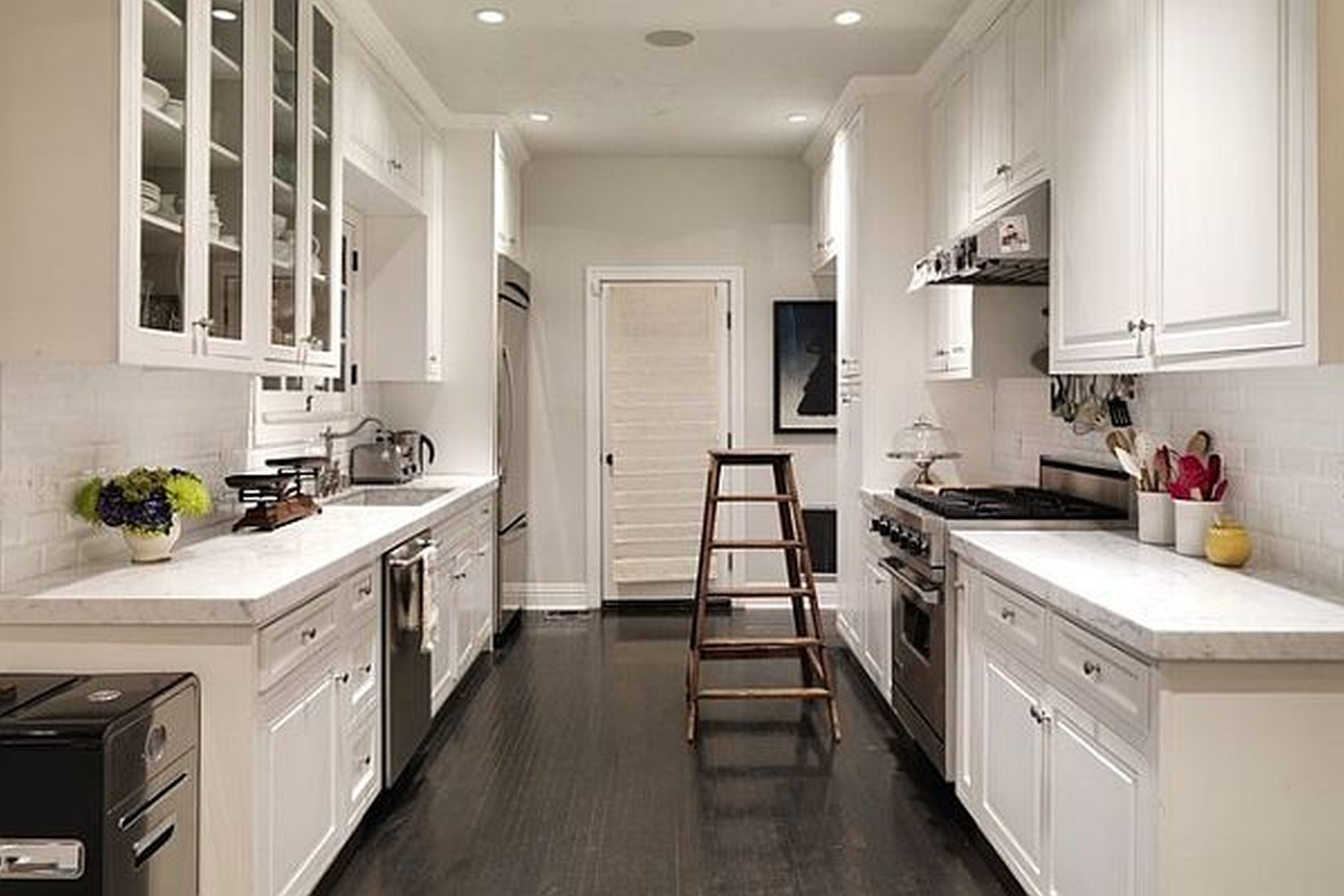 Kitchen Cabinets For Small Galley Kitchen