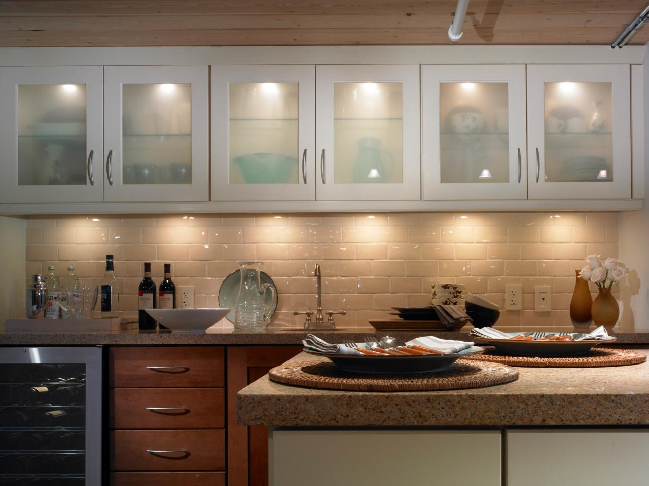 Kitchen Cabinets Lights Inside