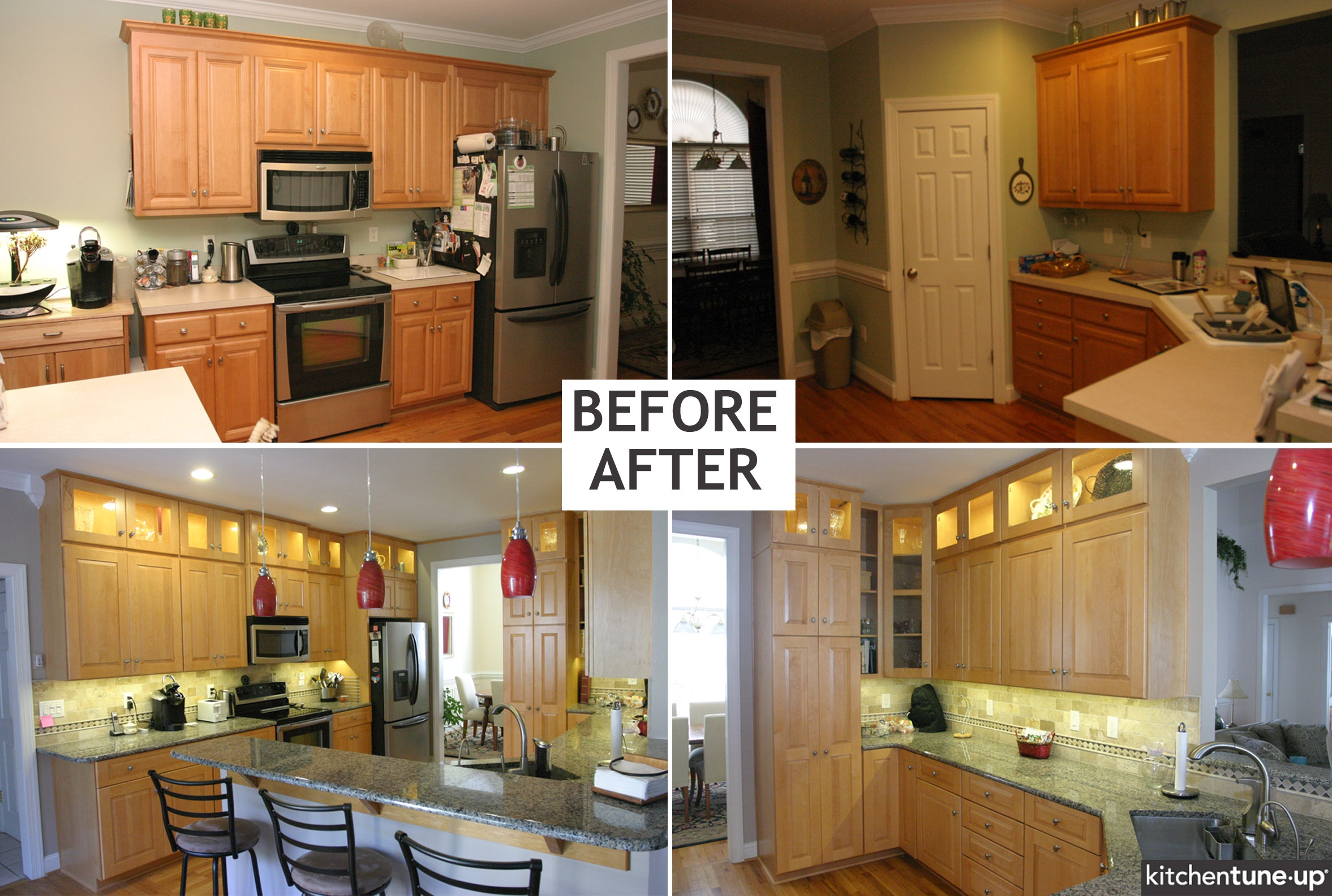 Kitchen Cabinets With Corner Pantry