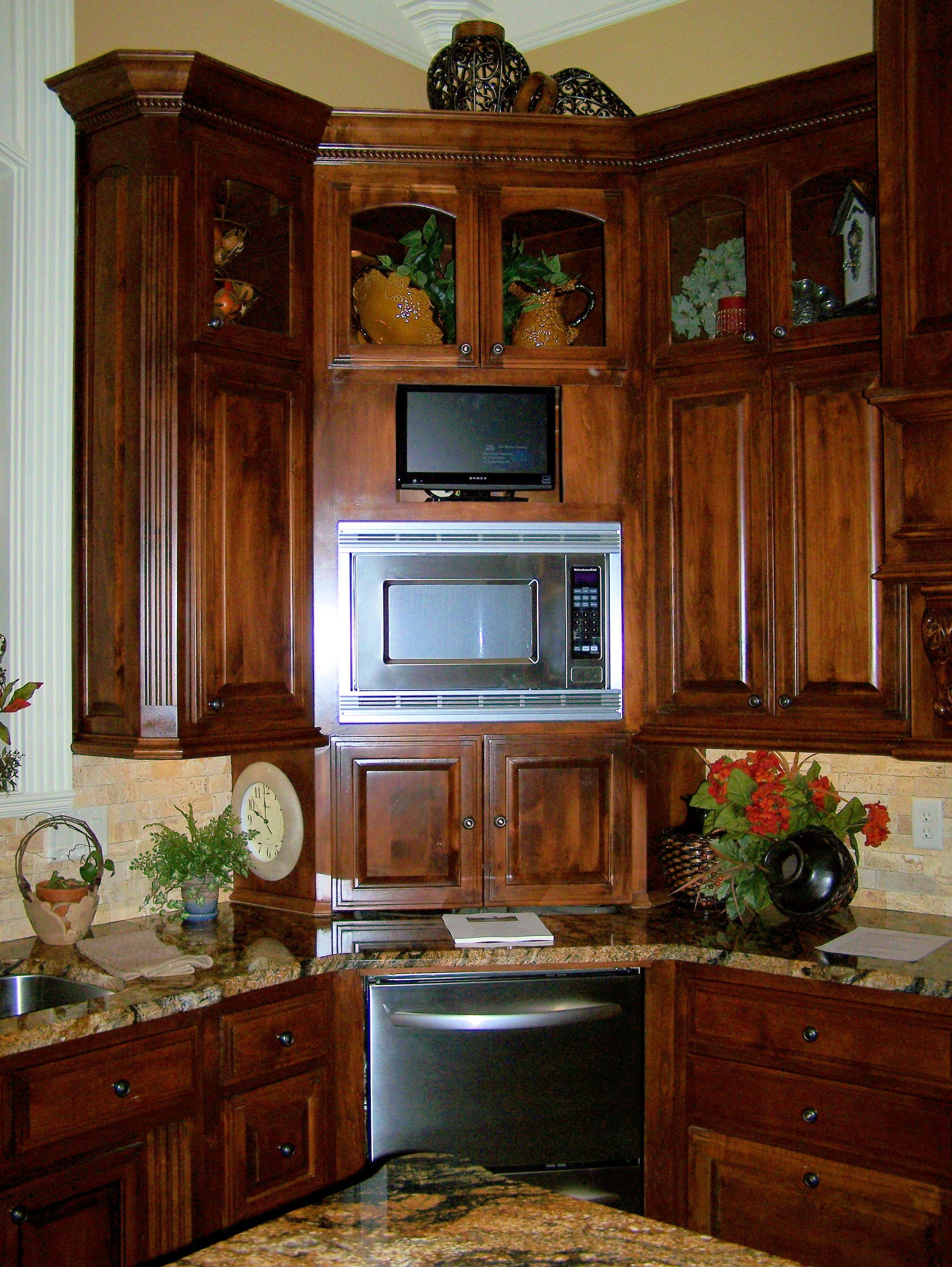 Kitchen Corner Wall Cupboard Storage
