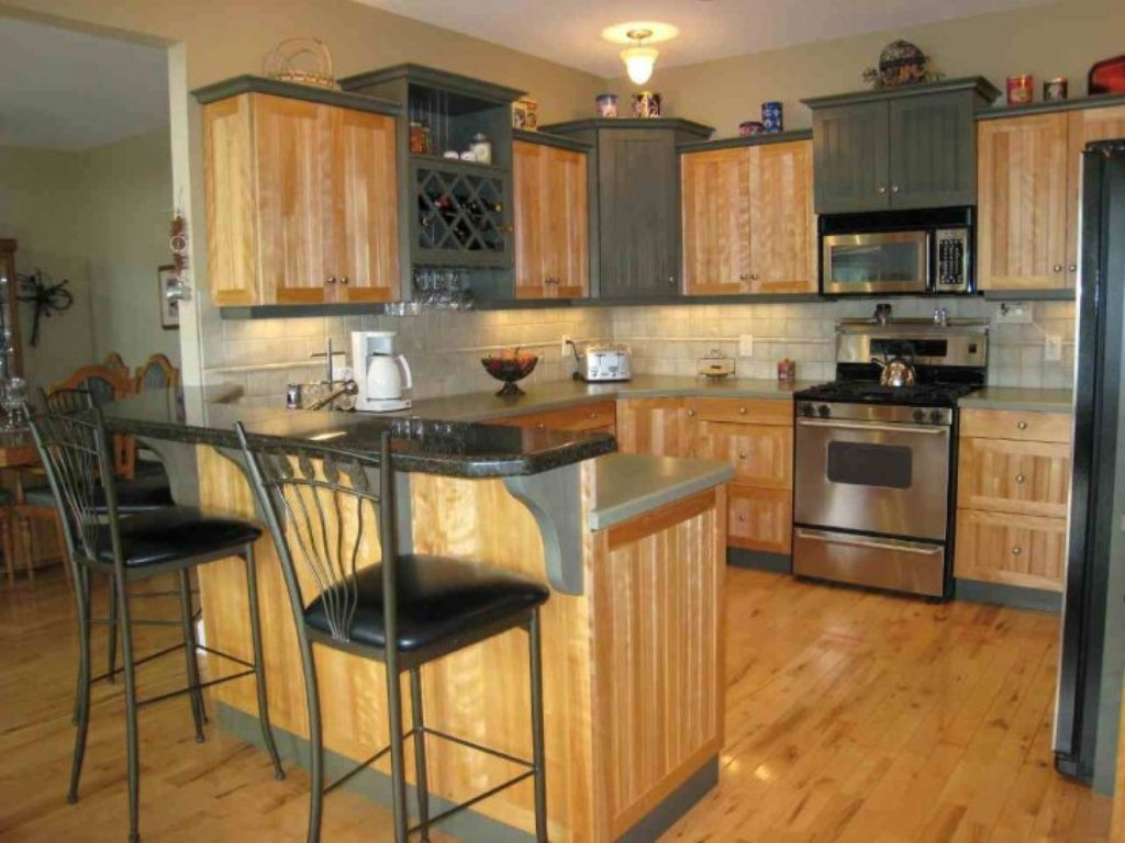 Kitchen Maple Cabinets Wall Color