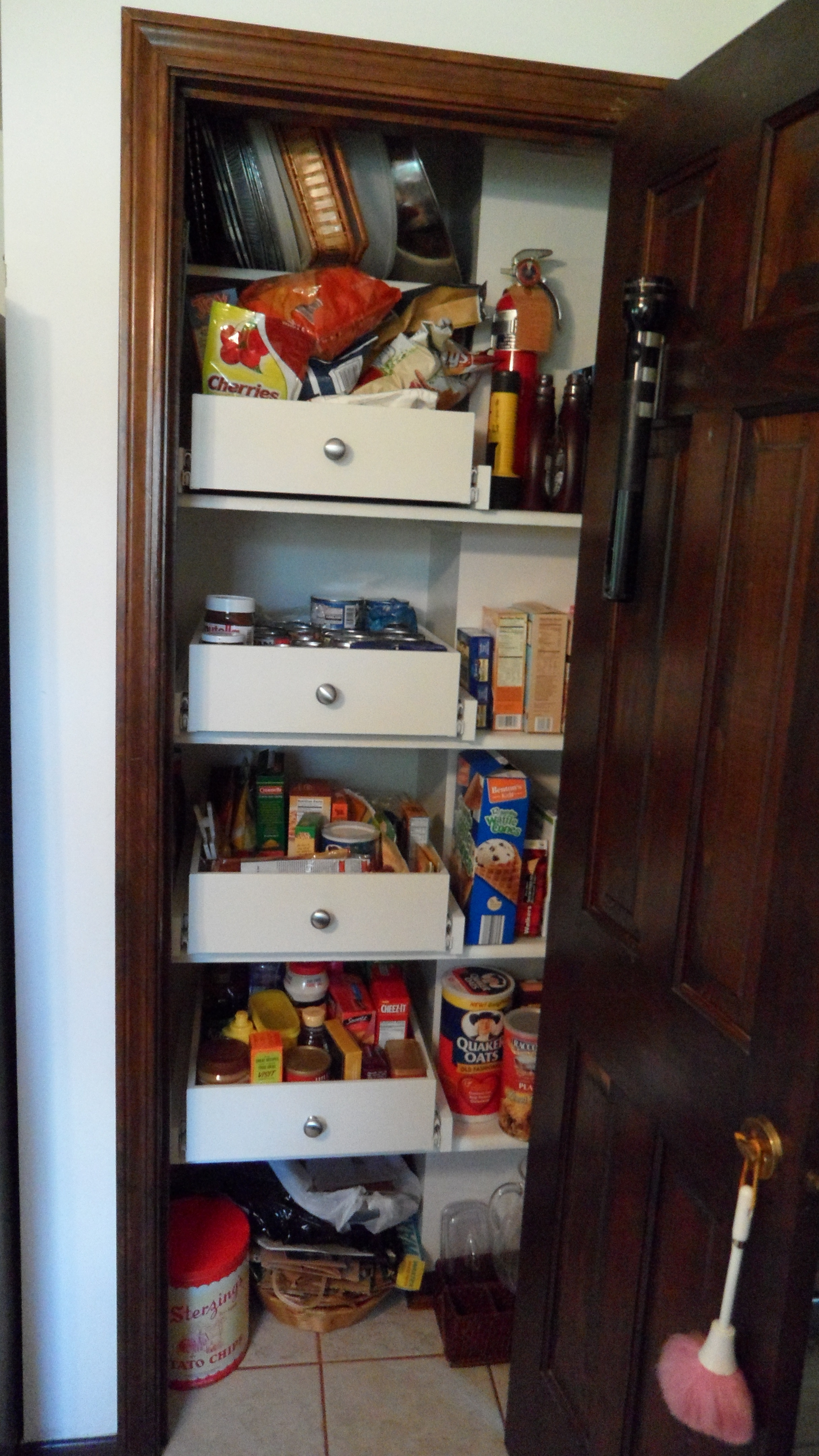 Kitchen Pantry Cabinet Slide Out