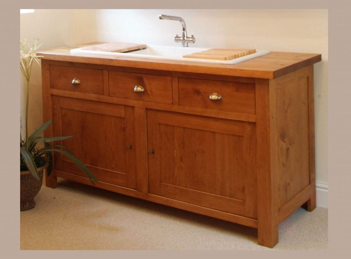 Kitchen Sink And Cabinet Unit