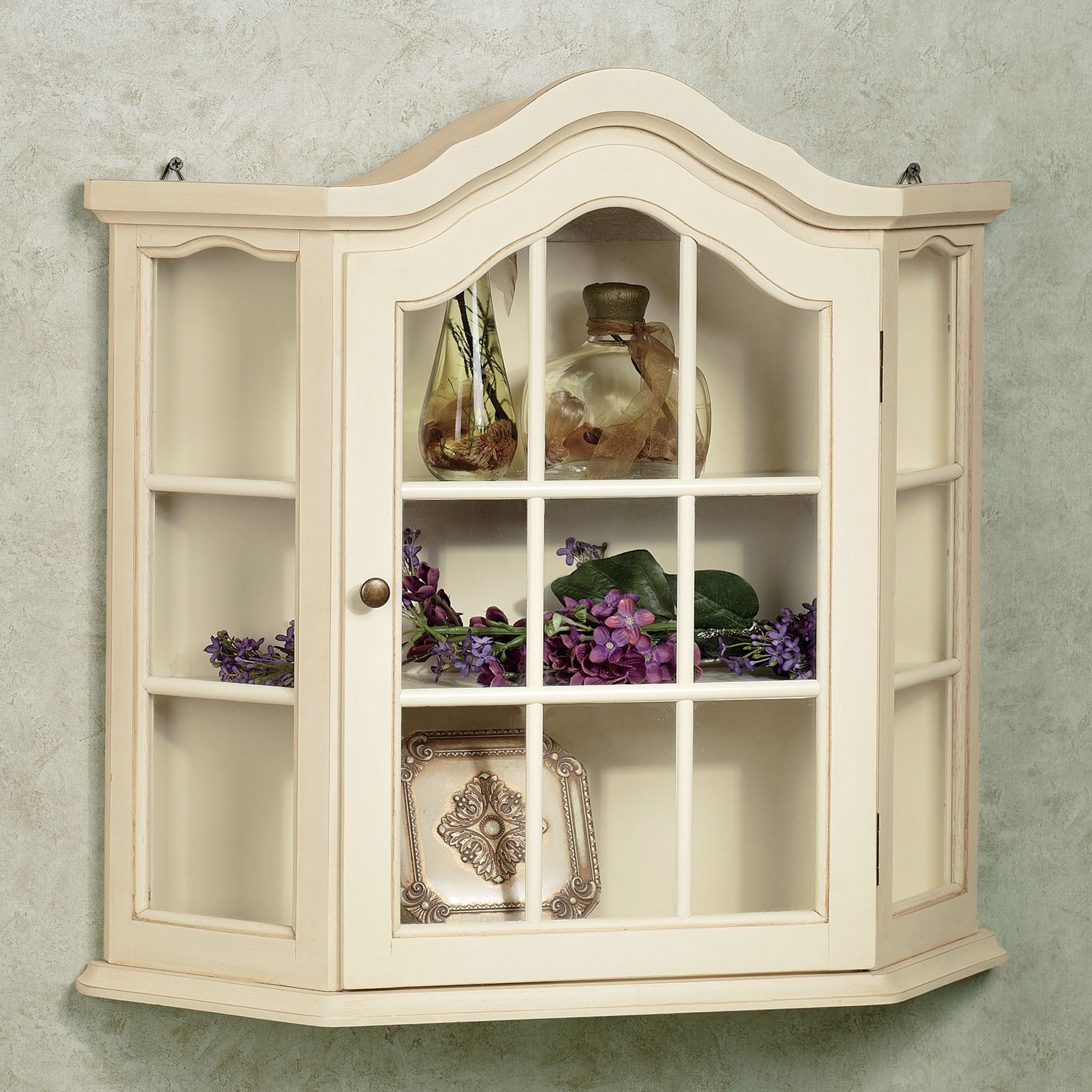 Kitchen Wall Mounted Display Cabinets