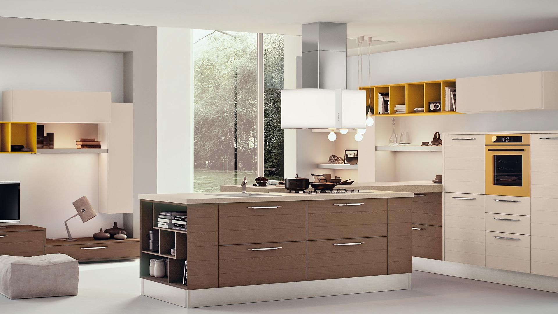 Lacquer Finish Kitchen Cabinets