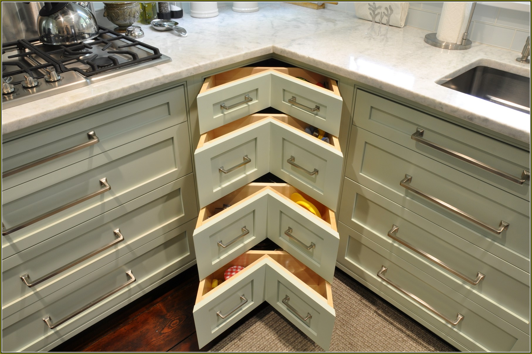 Large Deep Kitchen Cabinets