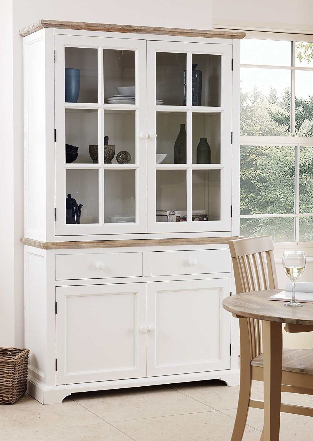 Large Kitchen Display Cabinets