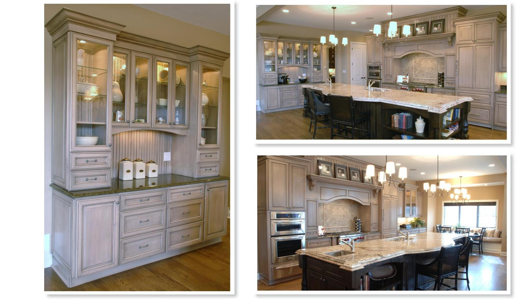 Light Stains For Kitchen Cabinets