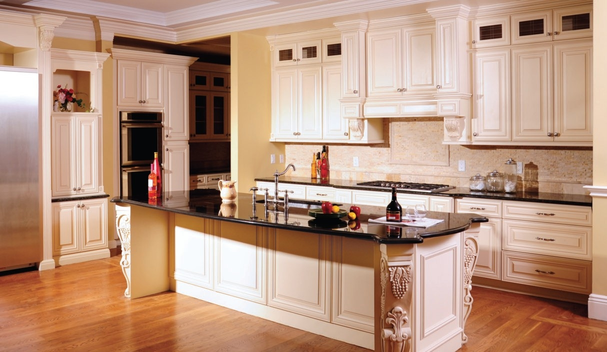 Maple Glazed Kitchen Cabinets Pictures