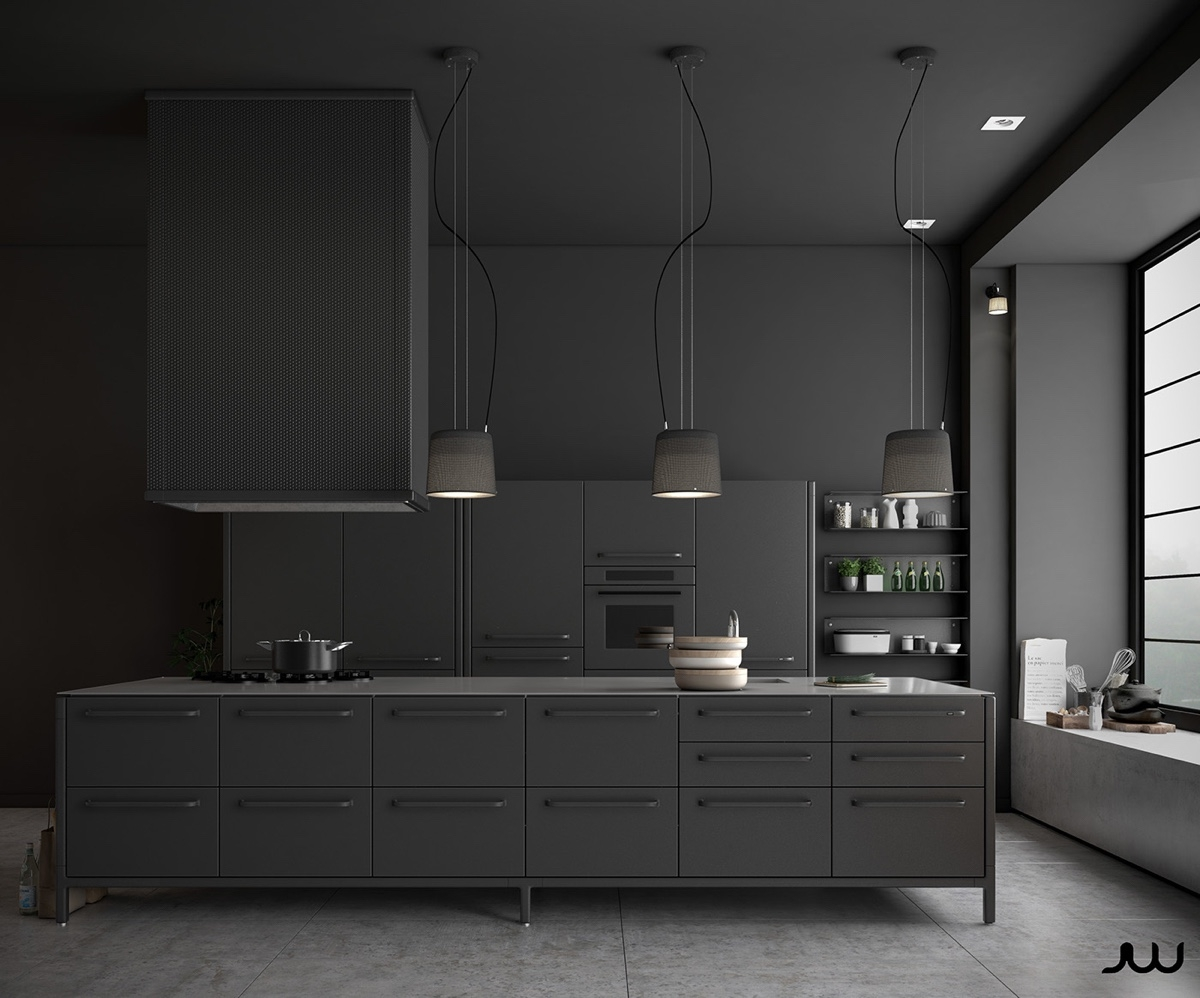 Permalink to Matt Black Kitchen Cabinet Doors