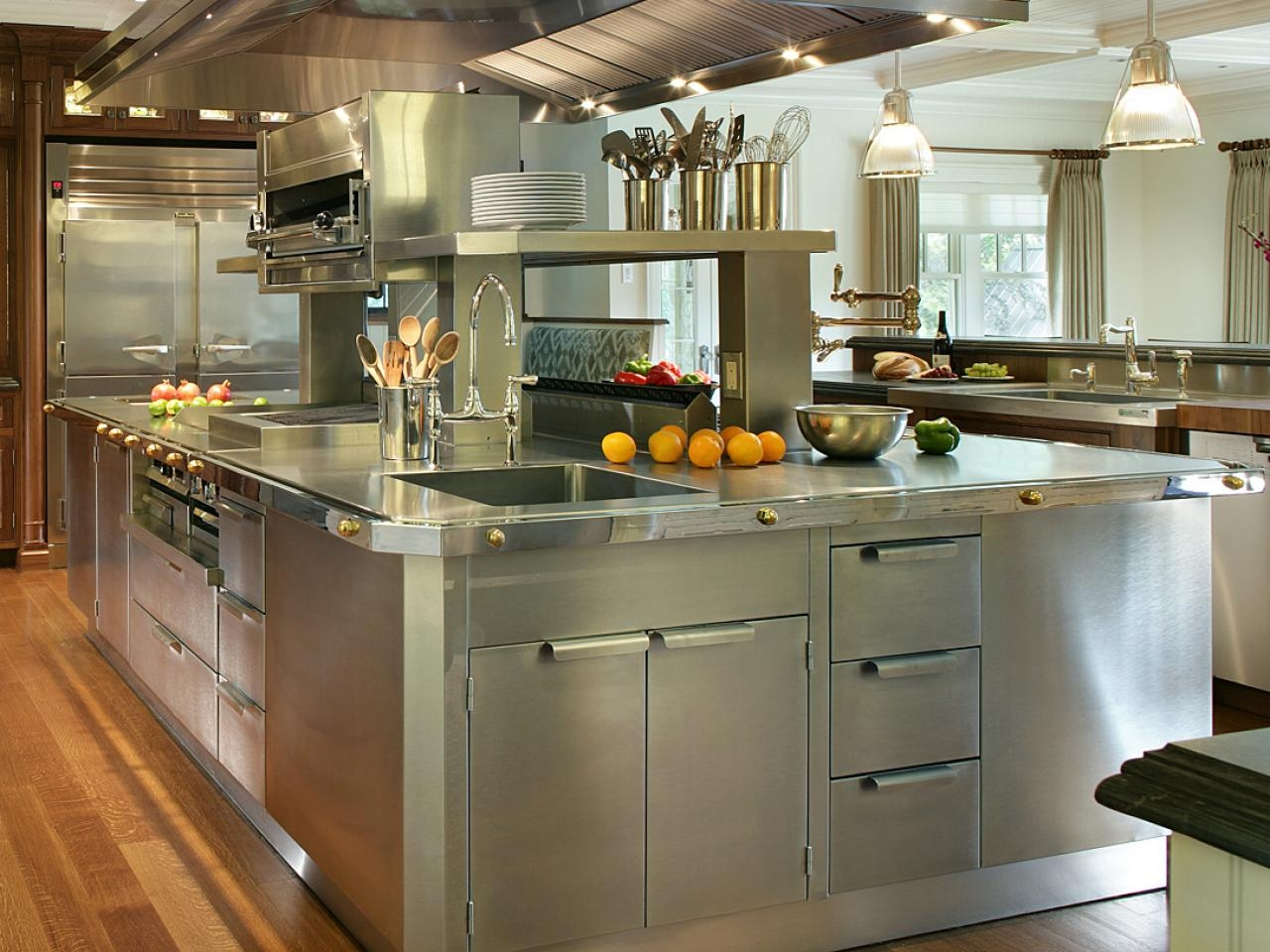 Metal Kitchen Cabinets With Sink
