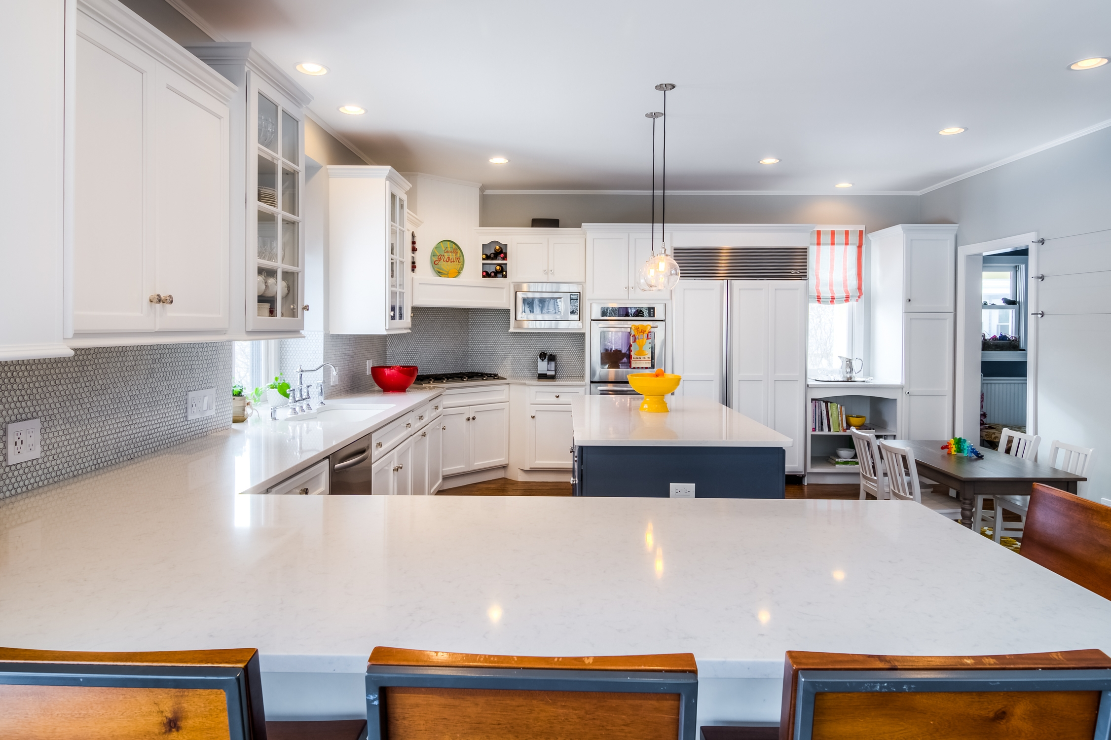 Modern Kitchen Cabinets White