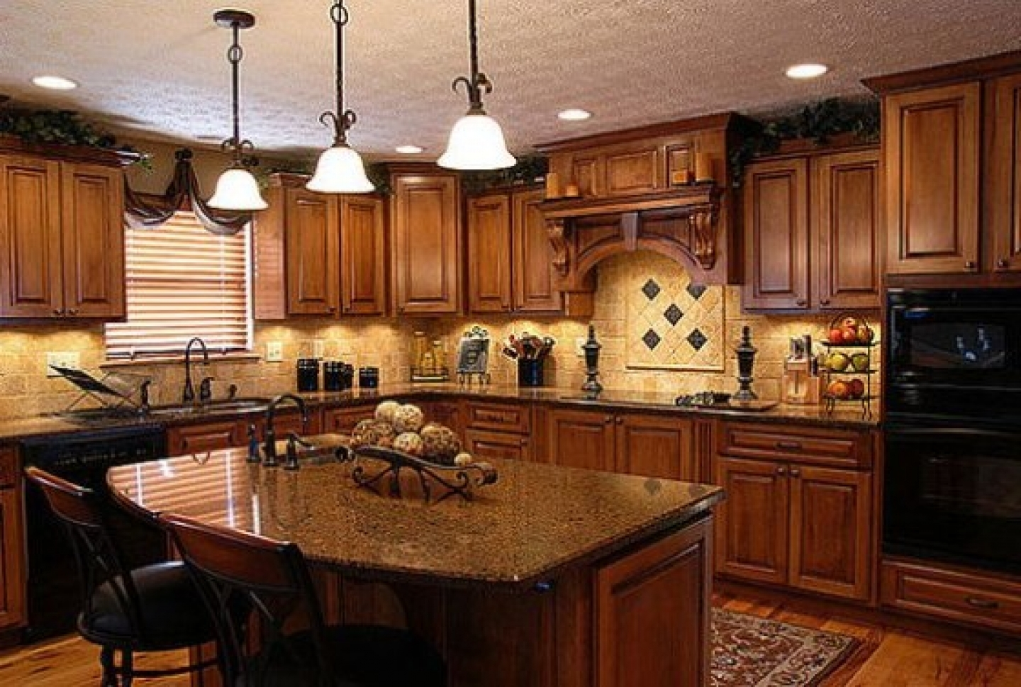 Oak Cabinet Kitchen Images