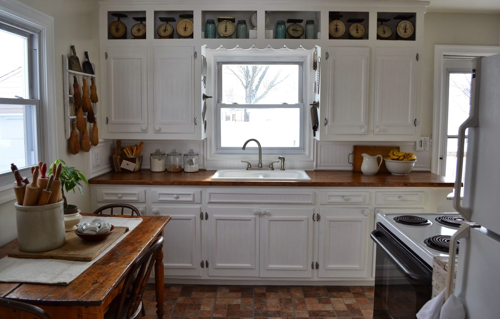 Old Farm Kitchen Cabinets