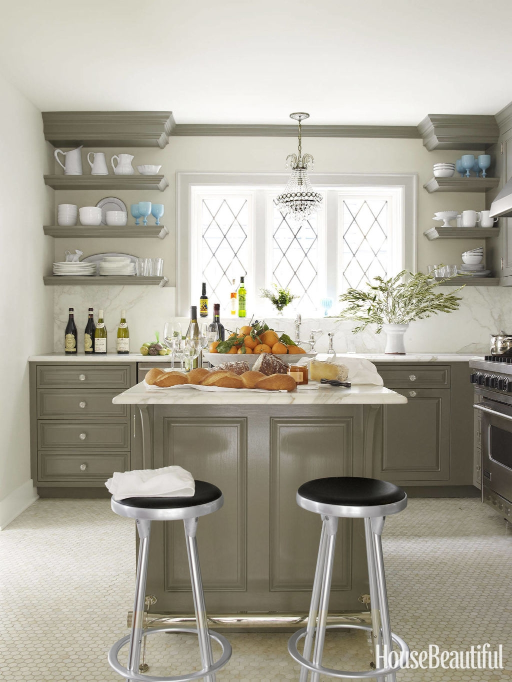 Open Kitchen Cabinets Images