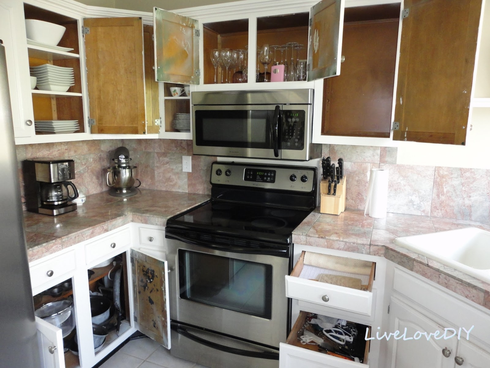 Pictures Of Updated Kitchen Cabinets