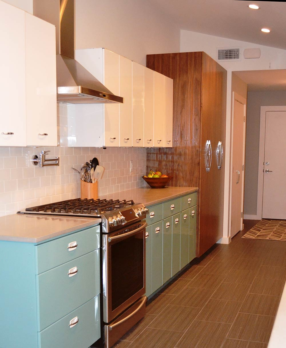 Powder Coated Steel Kitchen Cabinets