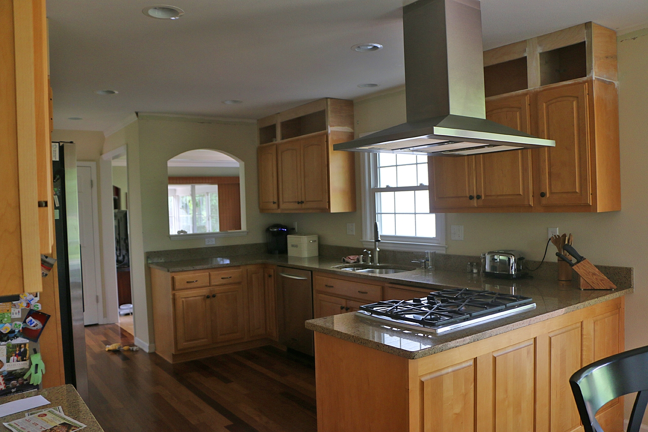 Raising Kitchen Cabinets To The Ceiling