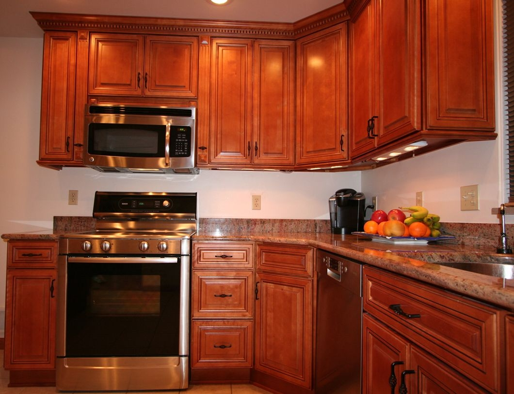 Red Chestnut Kitchen Cabinets Kitchen Cabinet