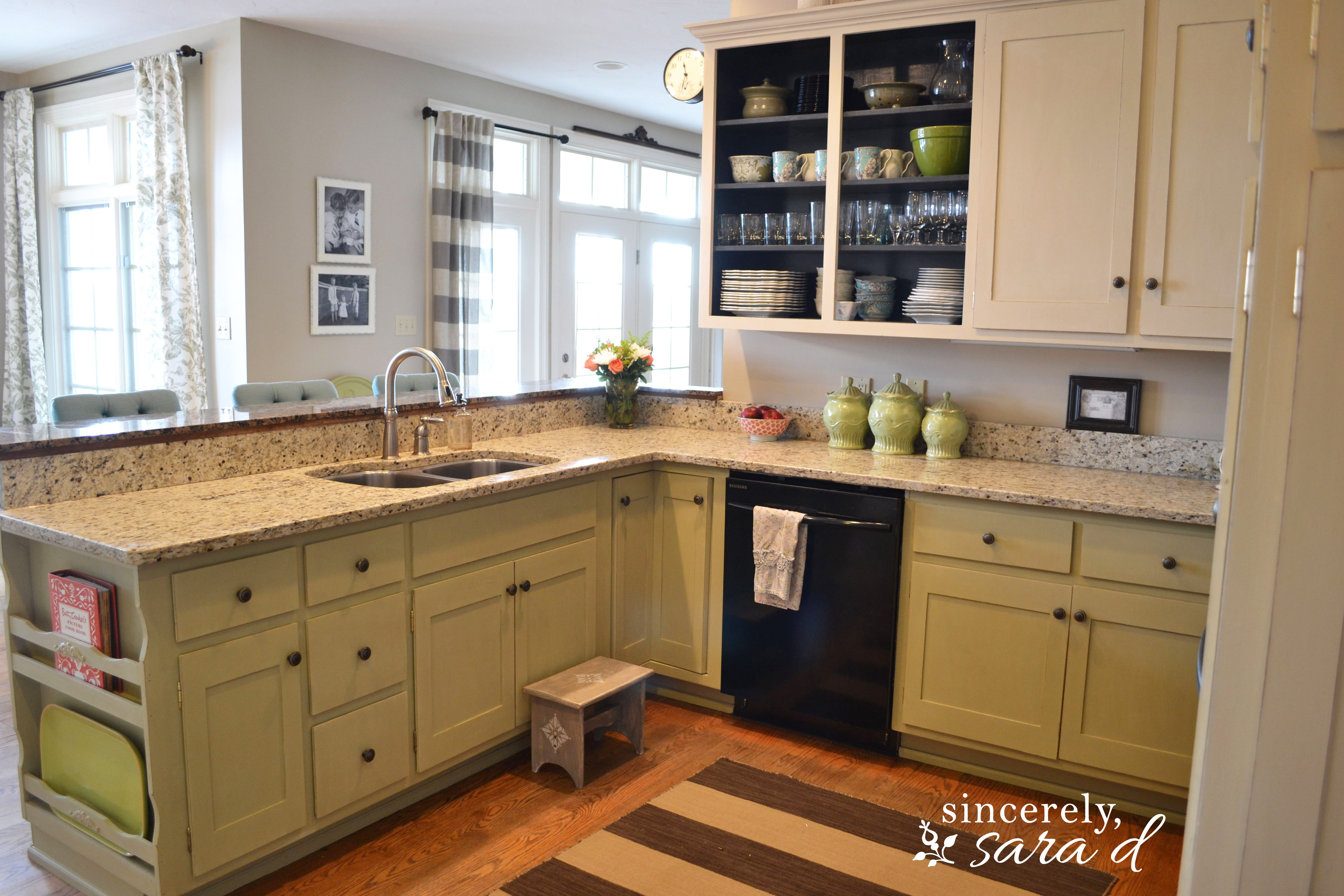 Redo Old Metal Kitchen Cabinets