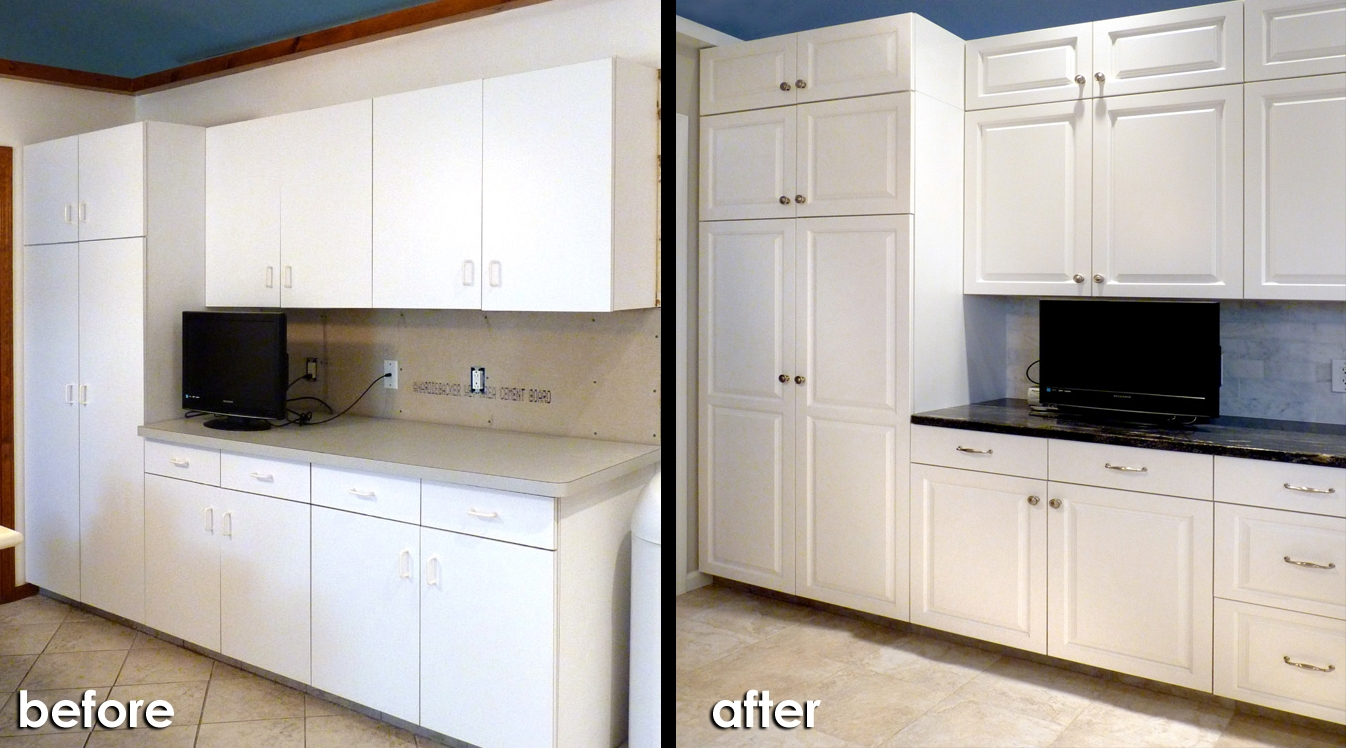 Refacing Laminate Kitchen Cabinets