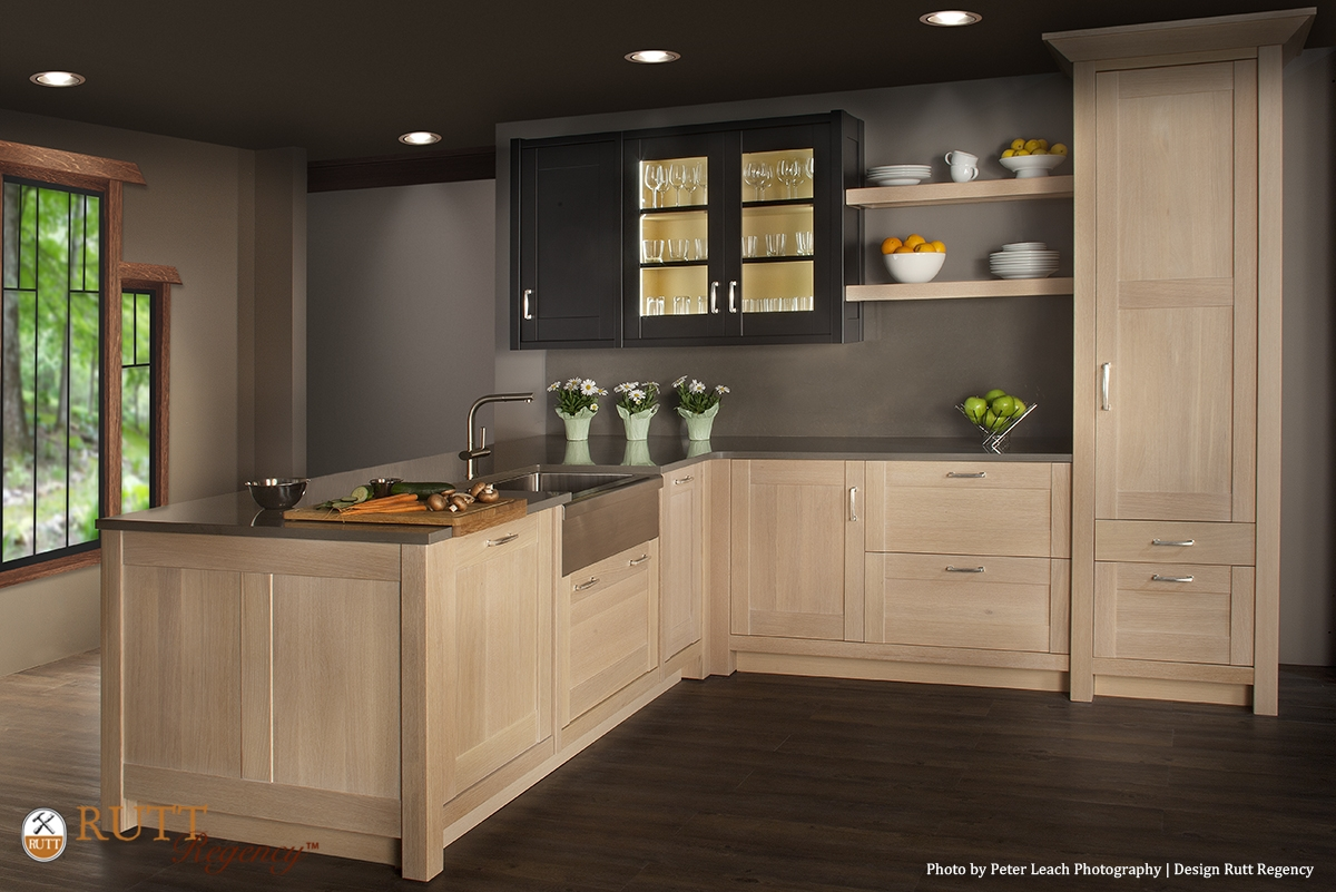 Rift Cut White Oak Kitchen Cabinets