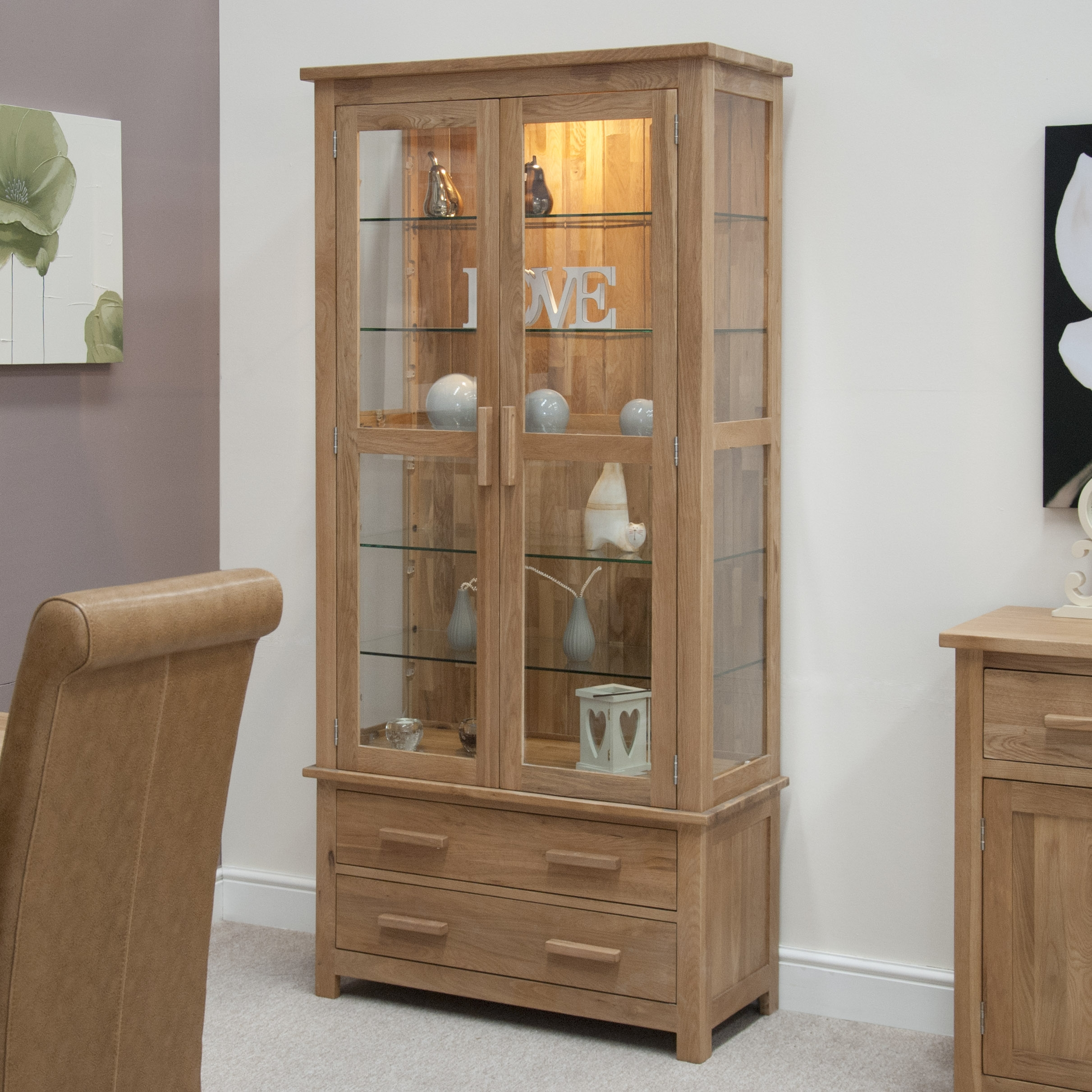 Small Display Cabinet For Kitchen
