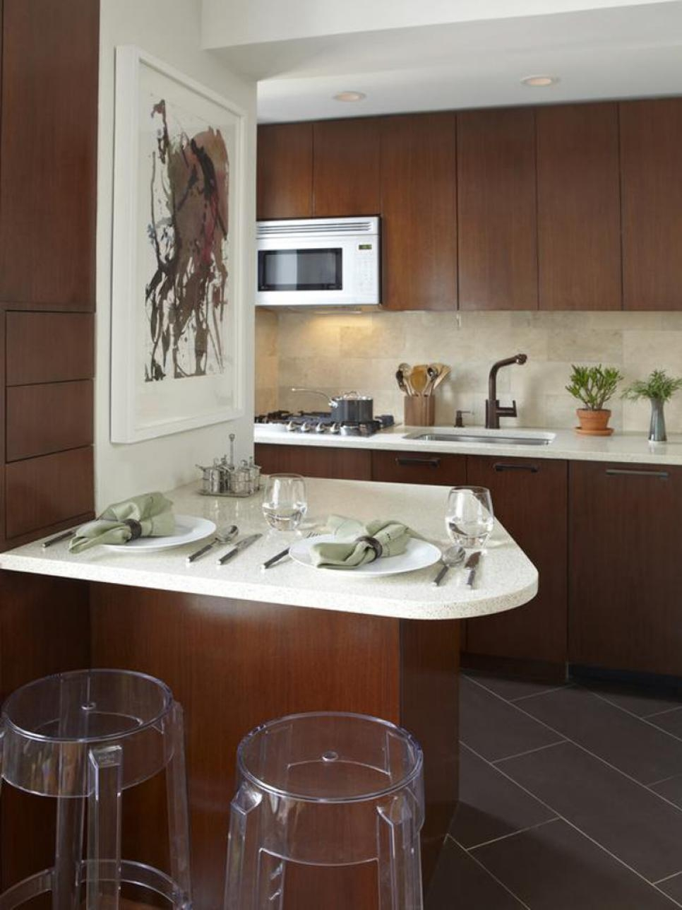 Small Kitchen Cabinet Configurations
