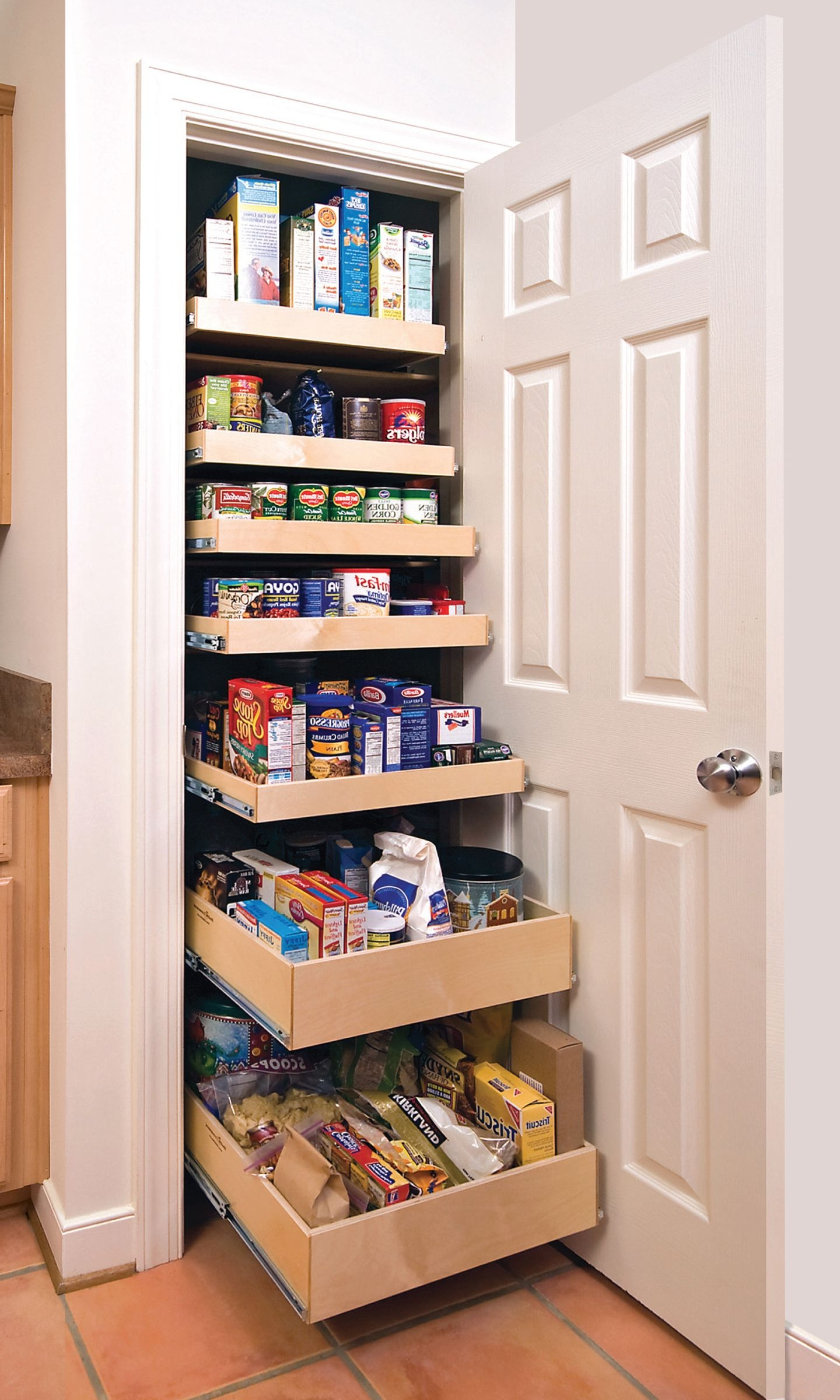 Small Kitchen Pantry Cupboard