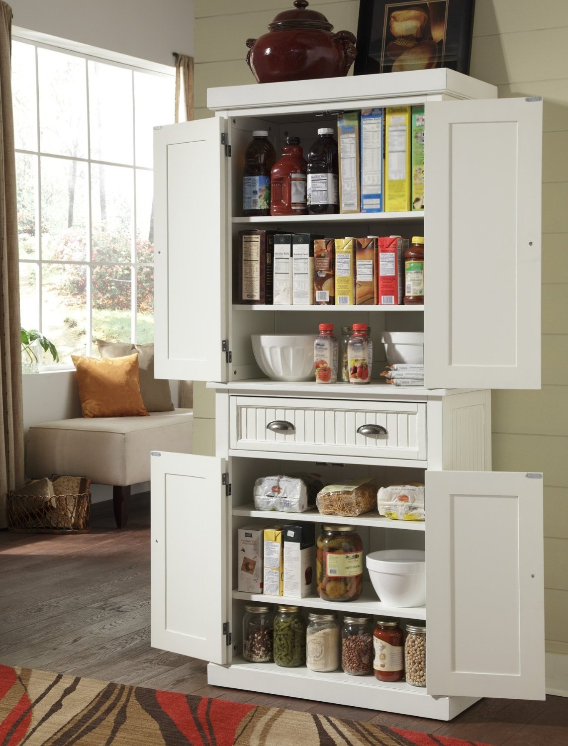 Small Kitchen Standing Cabinet