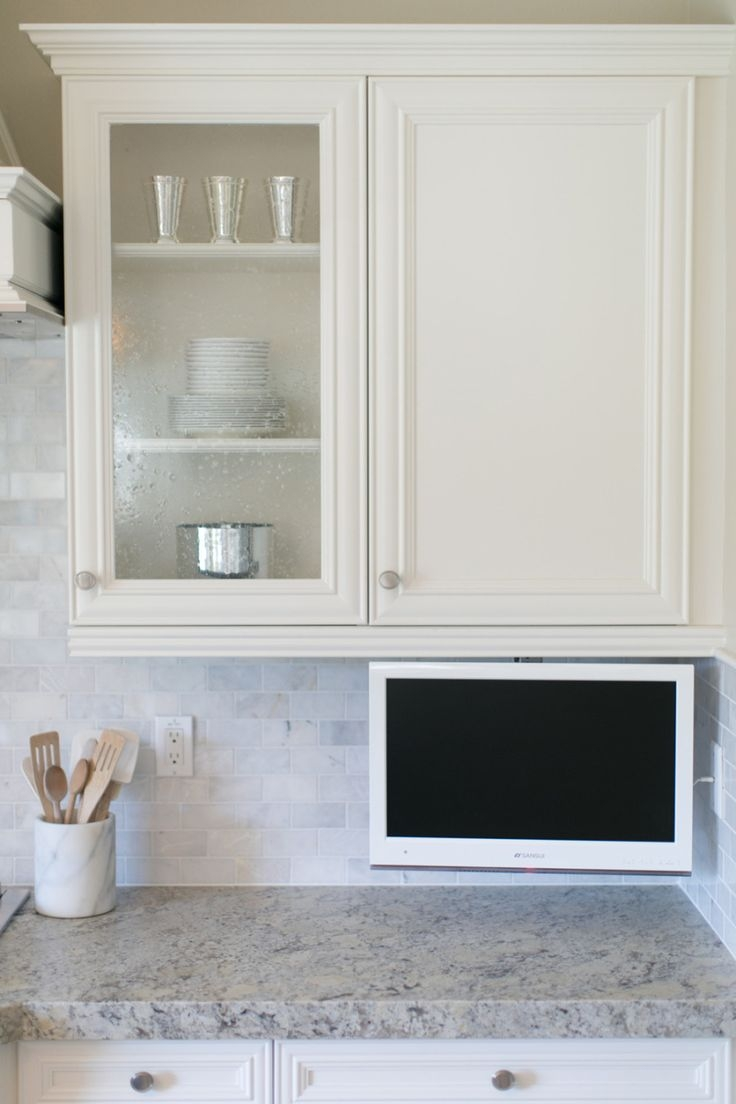 Small Tv For Kitchen Cabinet