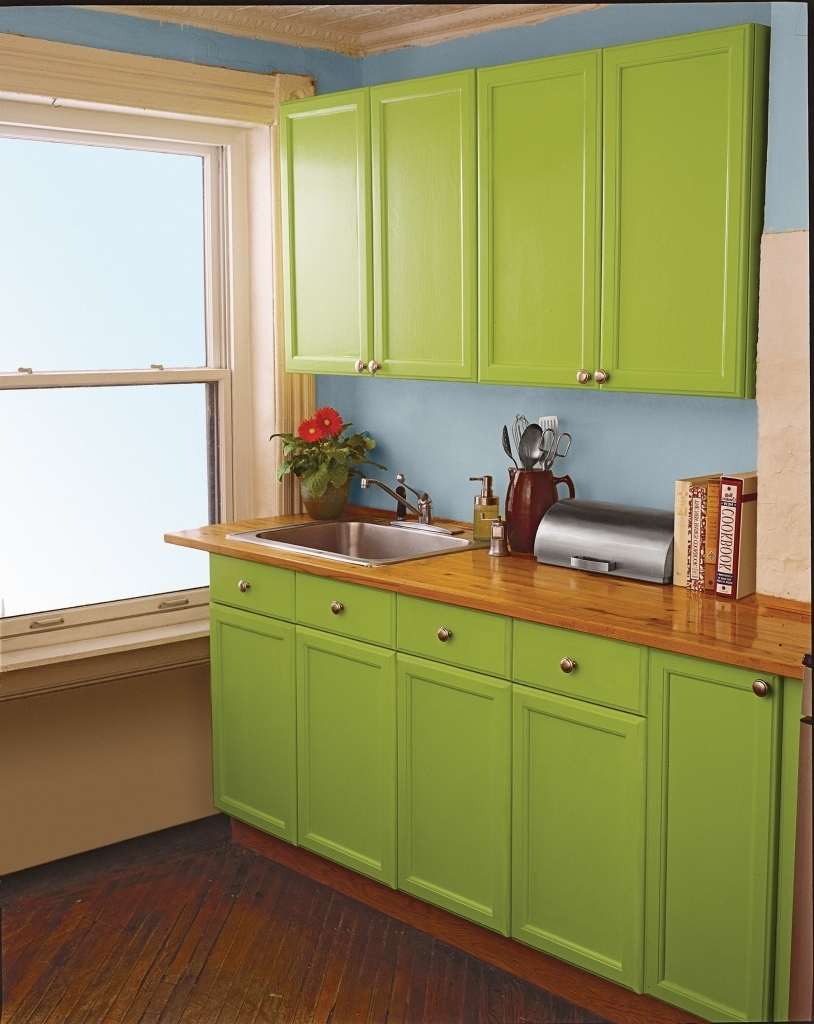 Spruce Up Flat Kitchen Cabinets