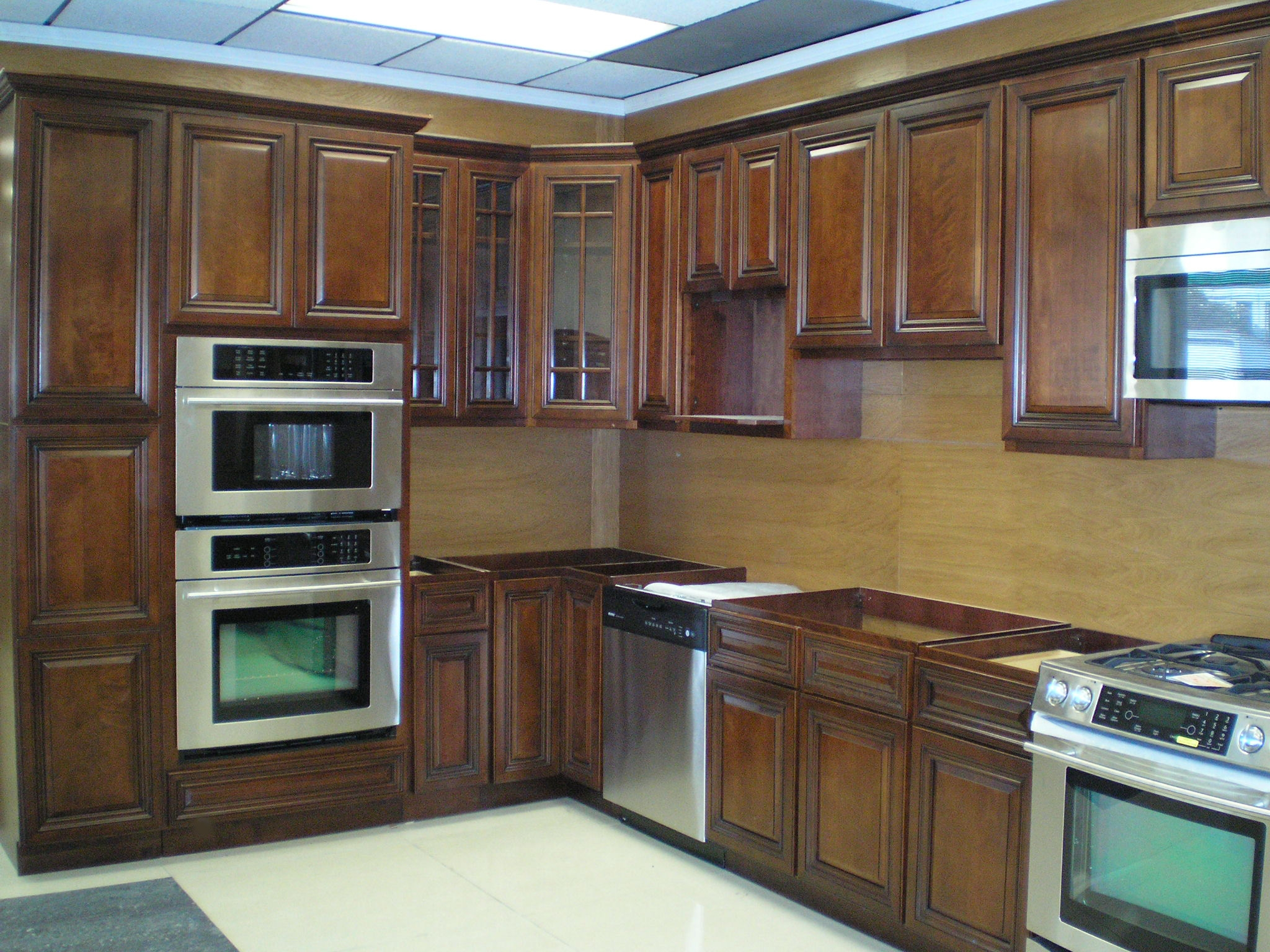 Staining Kitchen Cabinets Walnut