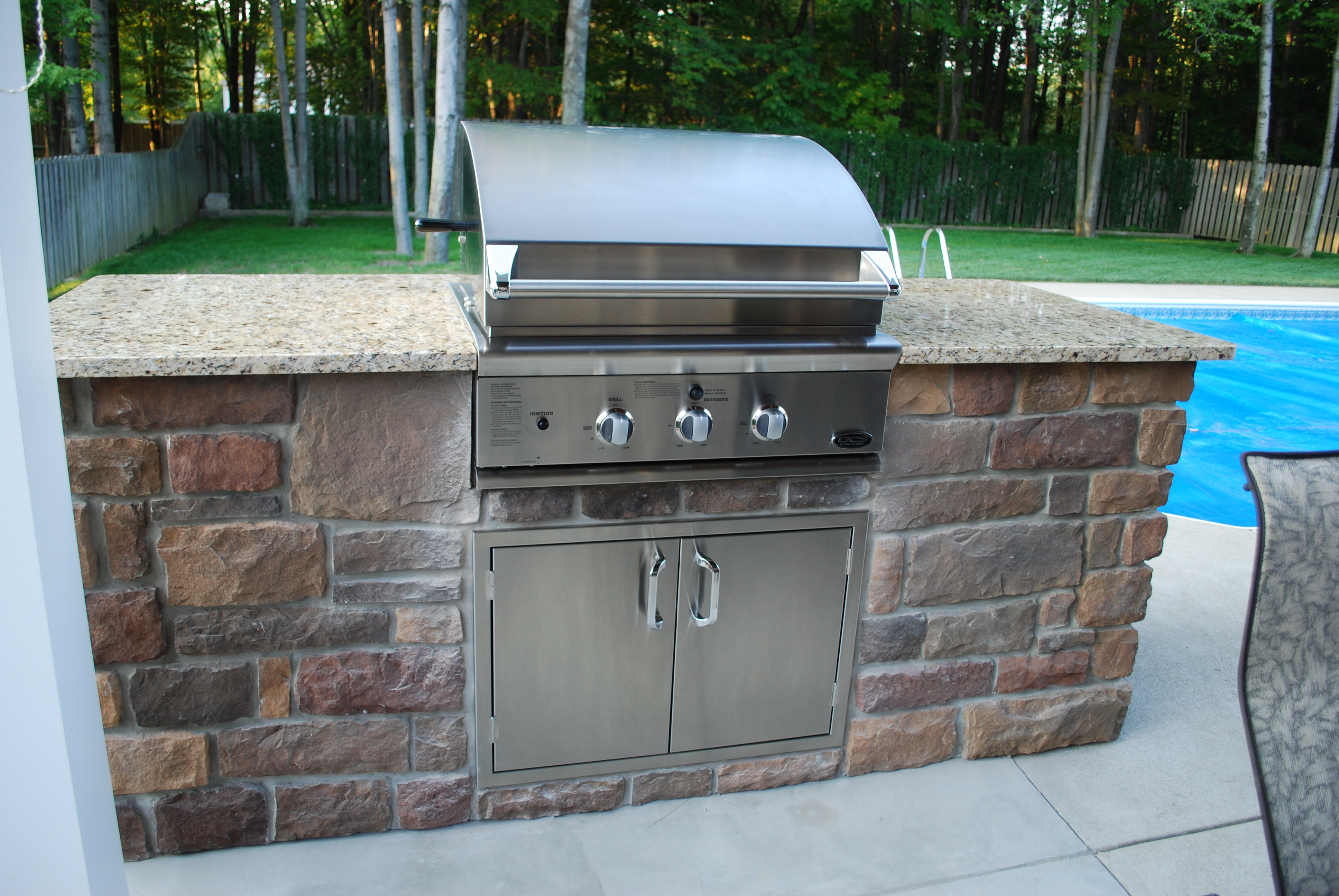 Stainless Cabinets Outdoor Kitchen